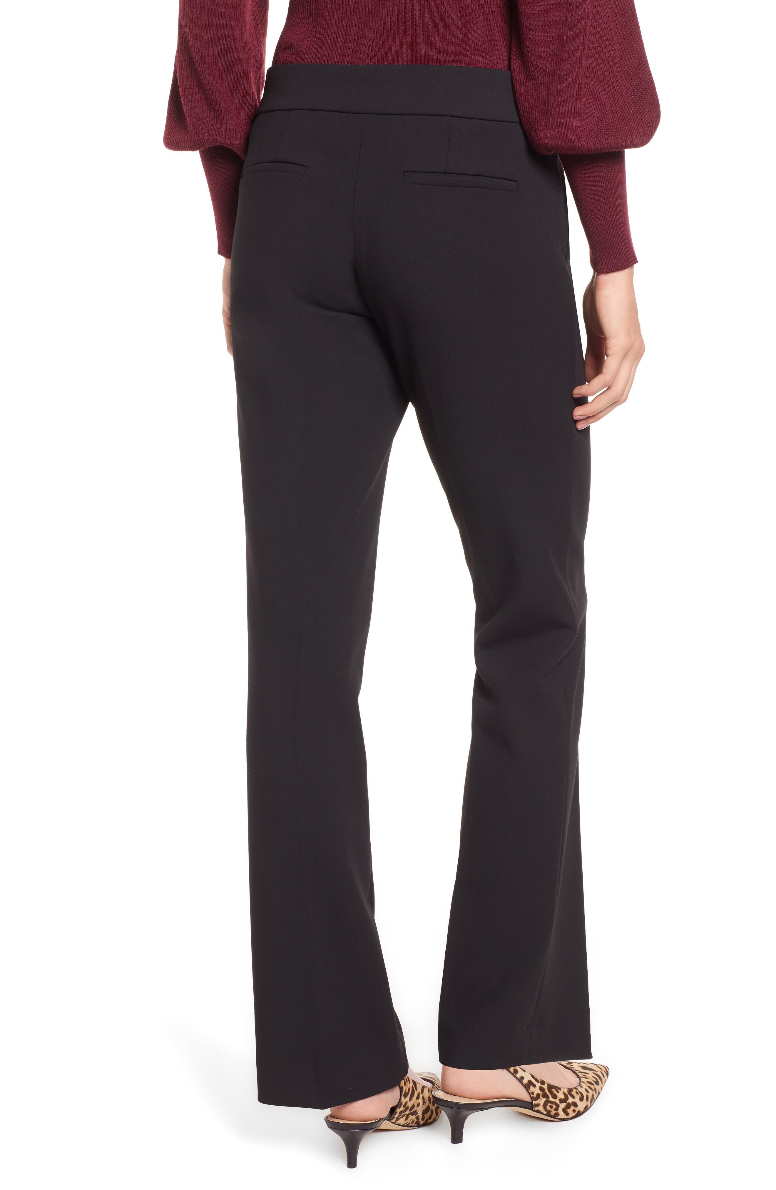 Edie Full Length Trouser in Four-Season Stretch,                             Alternate thumbnail 2, color,                             001