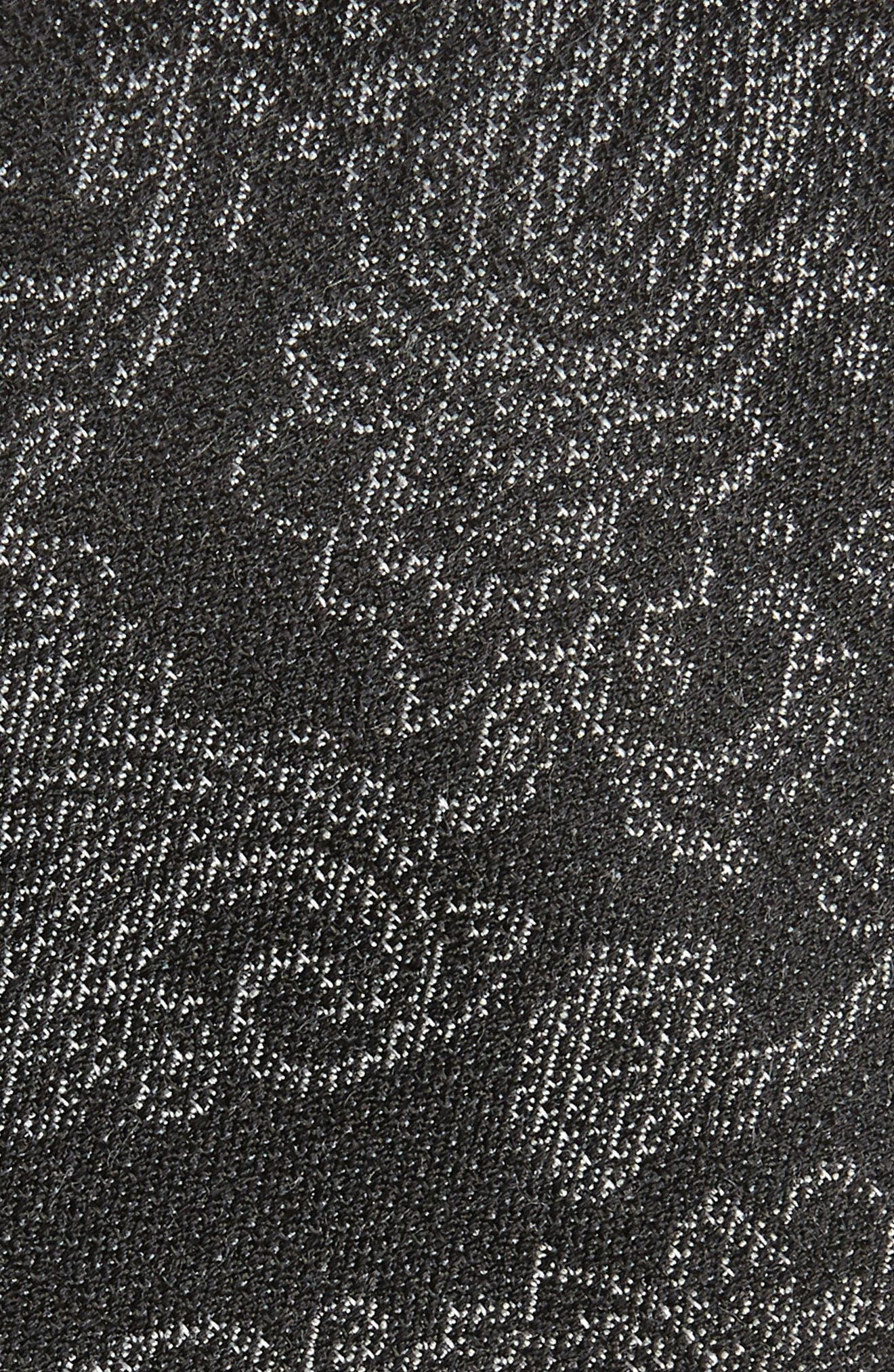 Dunsford Paisley Silk Blend Tie,                             Alternate thumbnail 2, color,                             BLACK