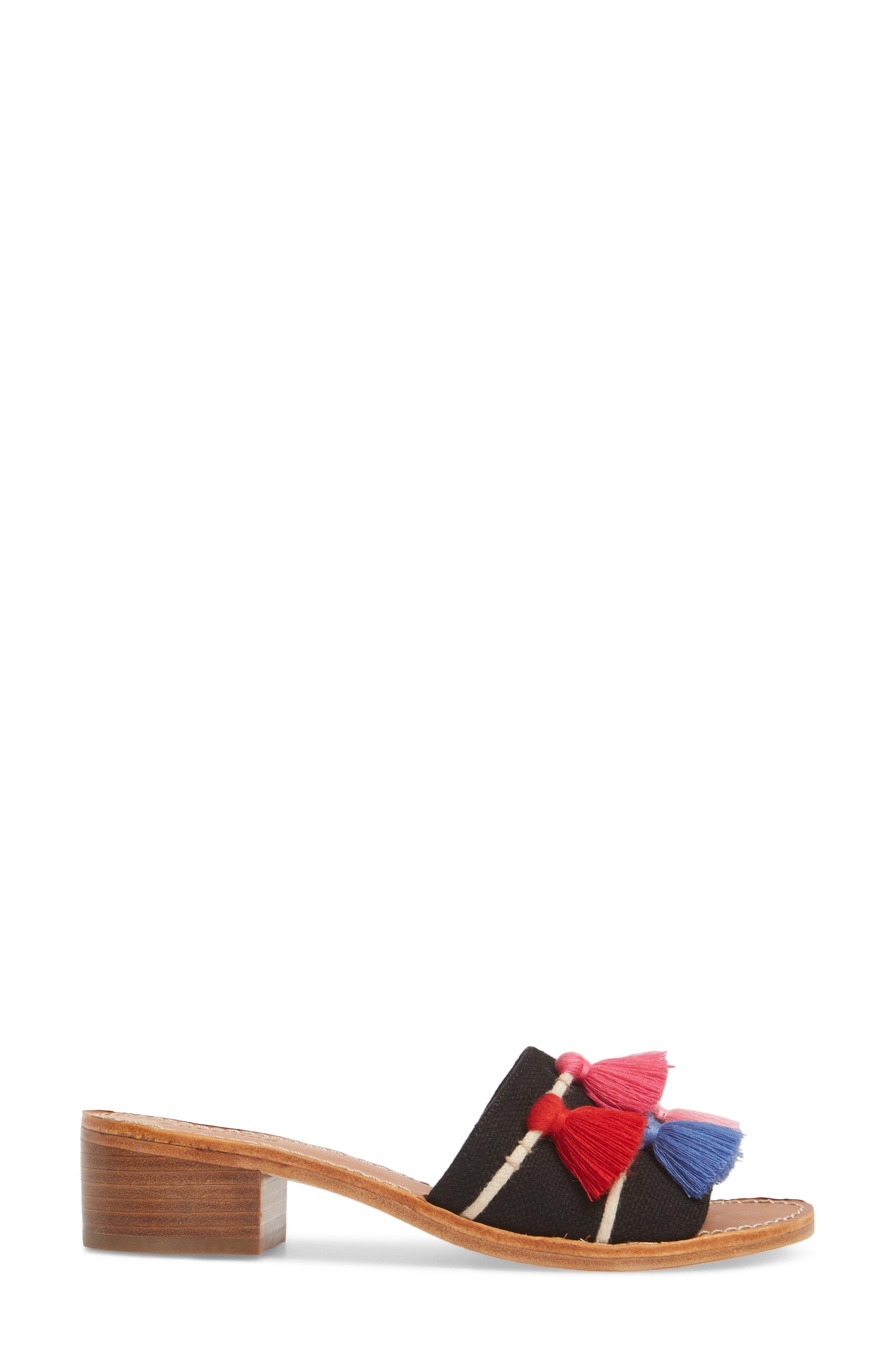 Tassel City Sandal,                             Alternate thumbnail 3, color,                             001