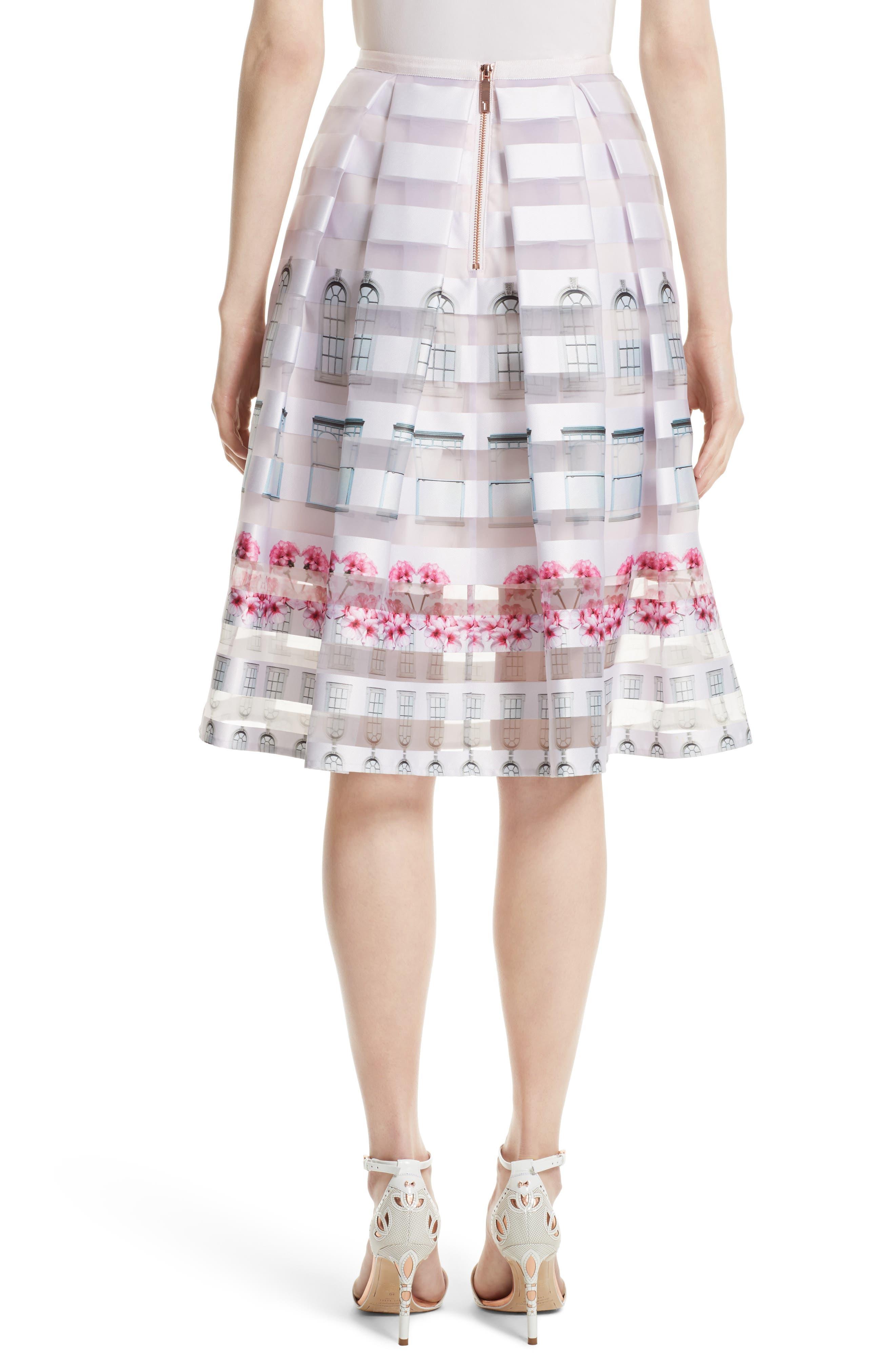 TED BAKER LONDON,                             Niica Midi Skirt,                             Alternate thumbnail 2, color,                             682