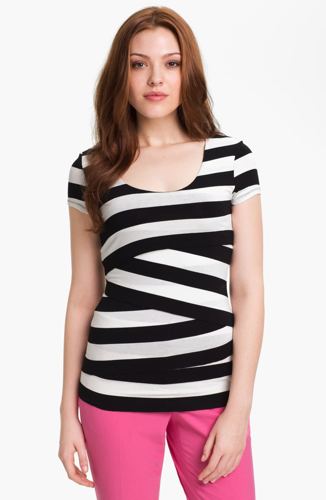 Stripe Bandage Top,                             Main thumbnail 2, color,