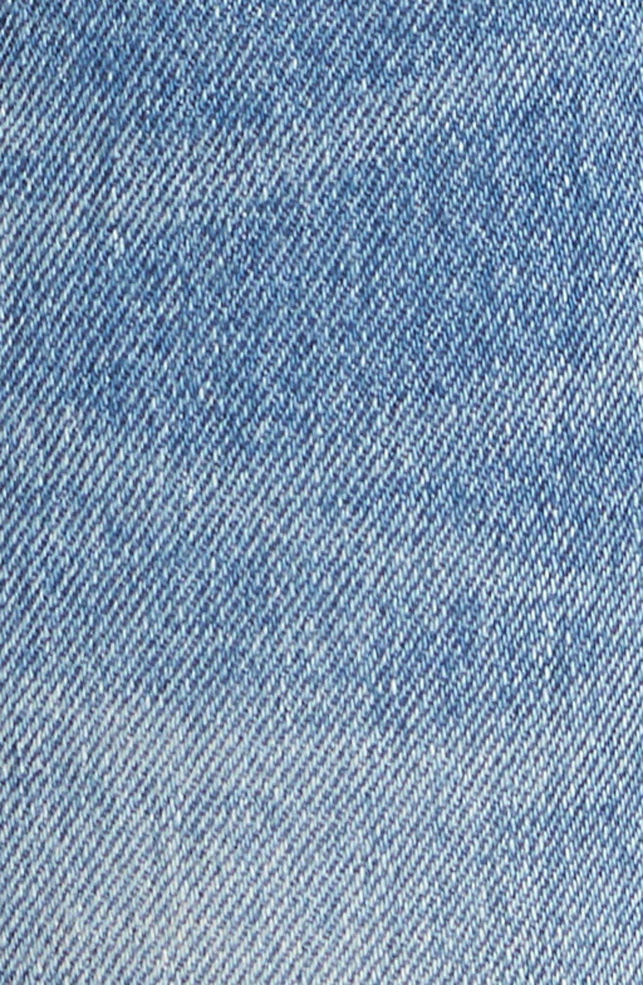 PRPS,                             Le Sabre Slim Fit Jeans,                             Alternate thumbnail 5, color,                             TAWDRY