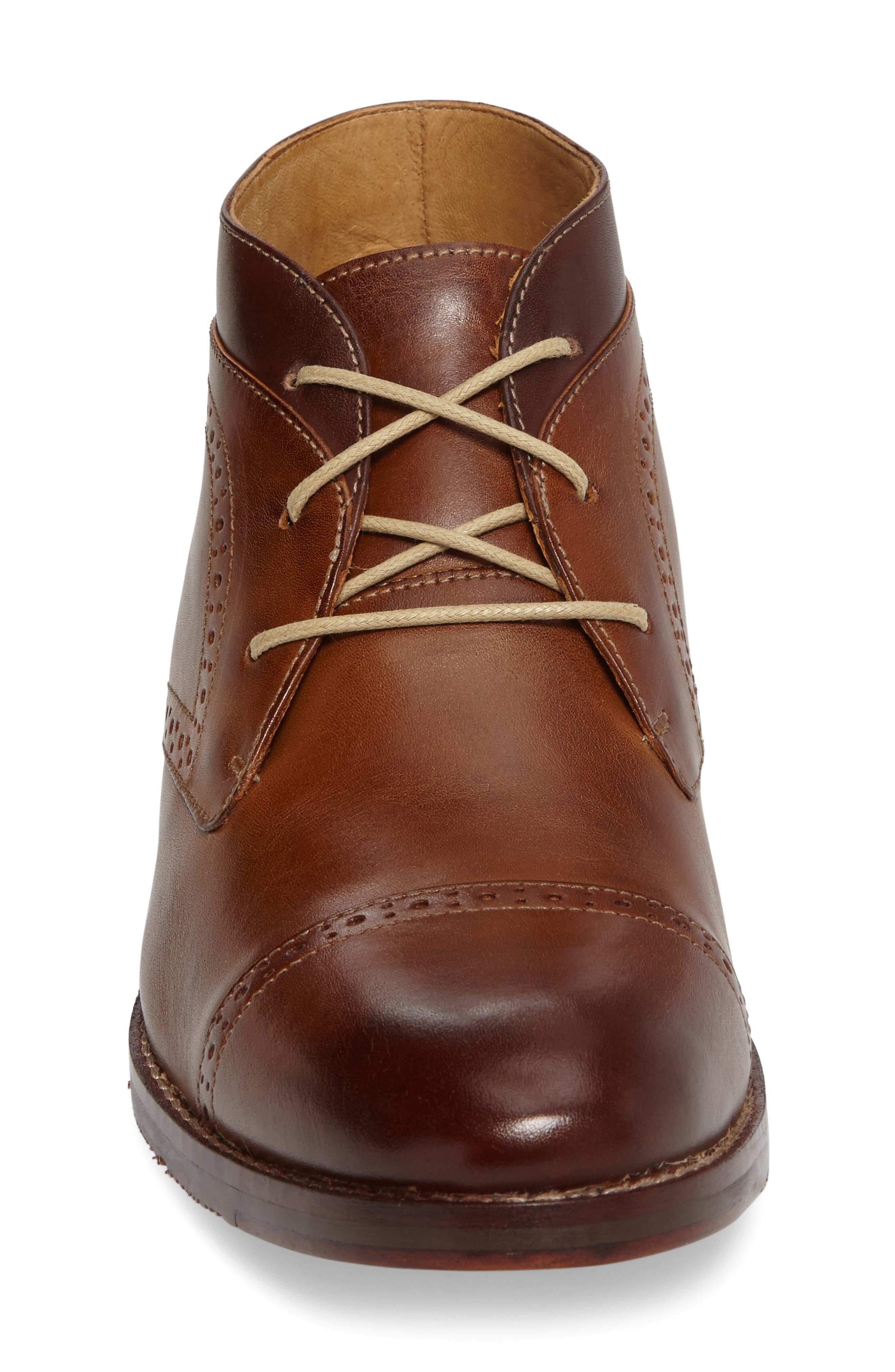 Garner Cap Toe Chukka Boot,                             Alternate thumbnail 3, color,