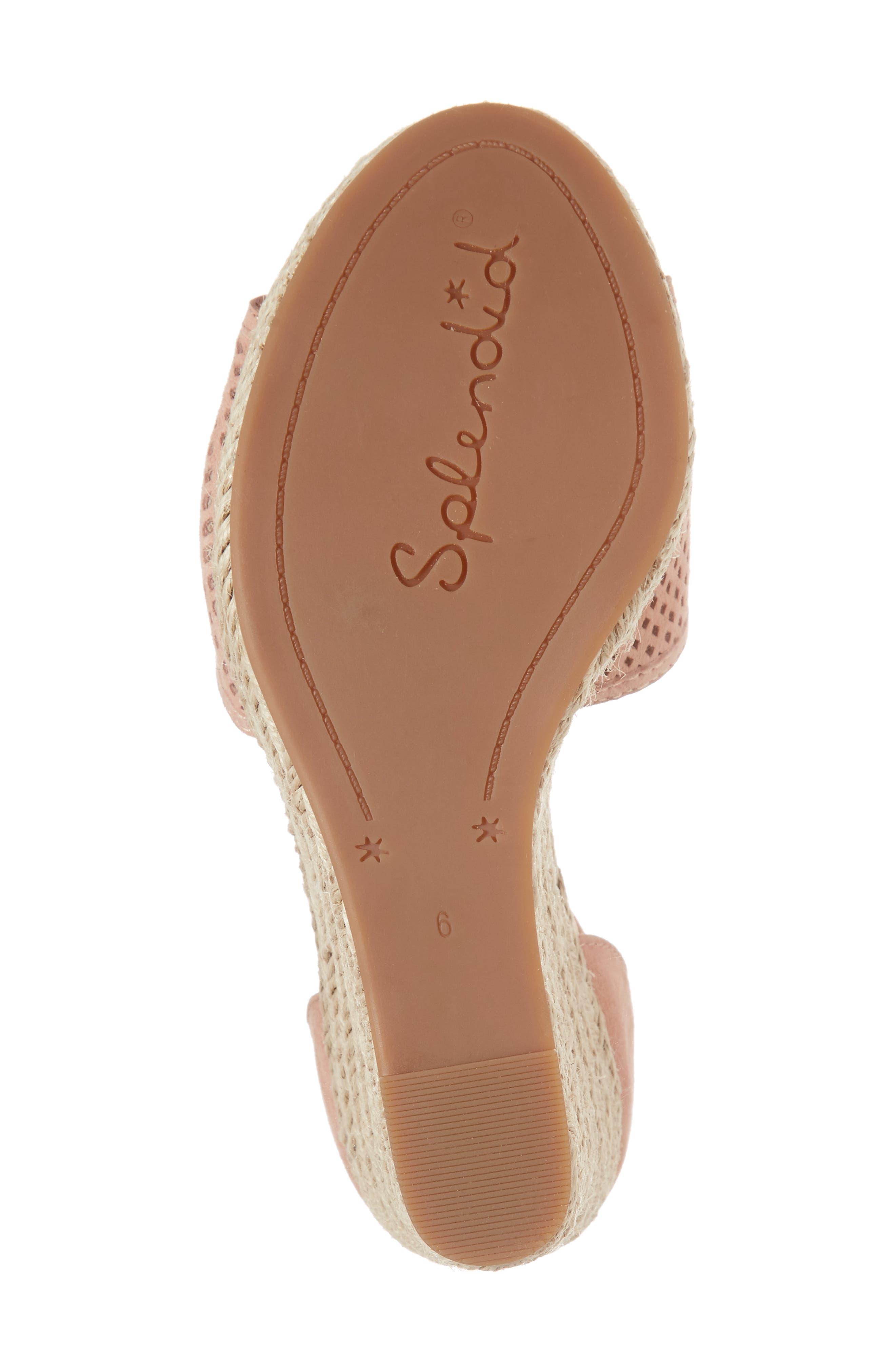 Bentley Espadrille Wedge Sandal,                             Alternate thumbnail 18, color,
