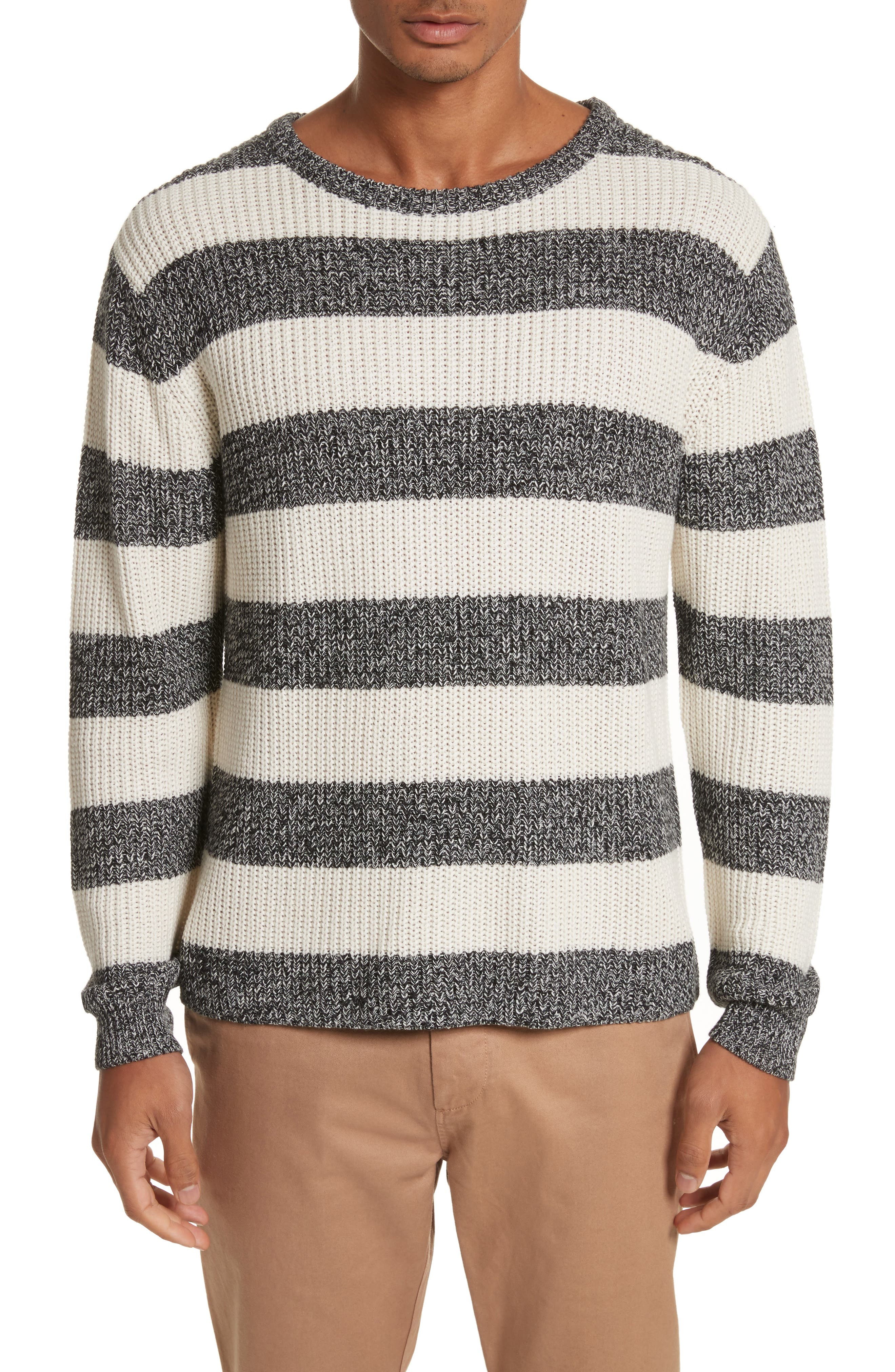 Lee Stripe Crewneck Sweater,                         Main,                         color, 101