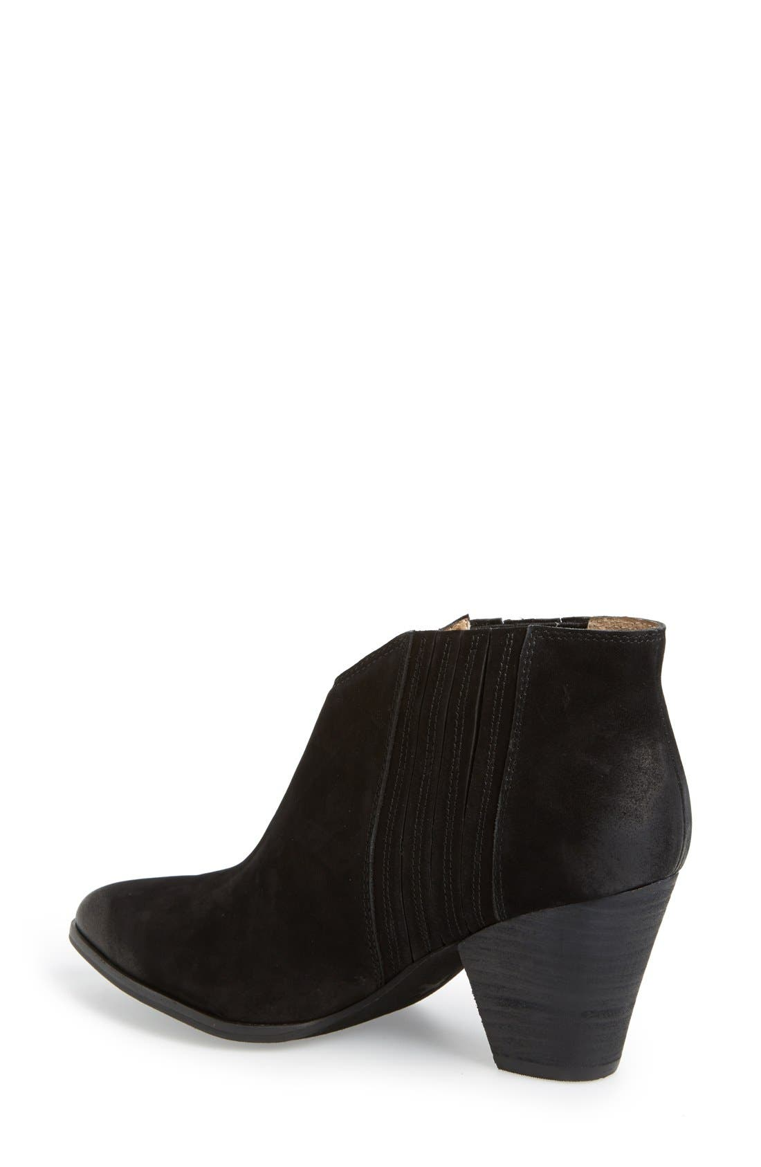 'Addie' Pointy Toe Ankle Bootie,                             Alternate thumbnail 9, color,