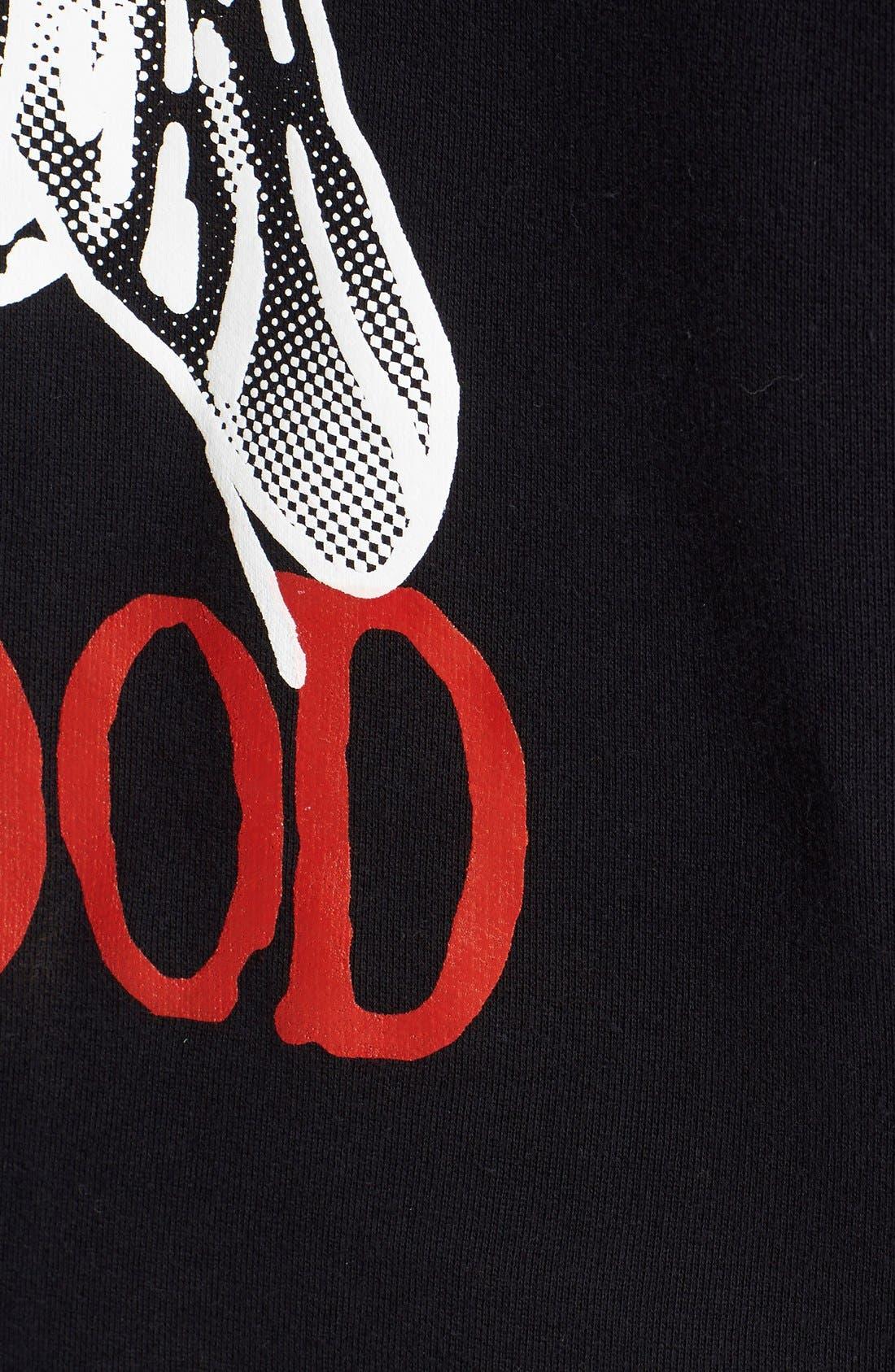 'Bad Mood' Hoodie,                             Alternate thumbnail 3, color,                             001