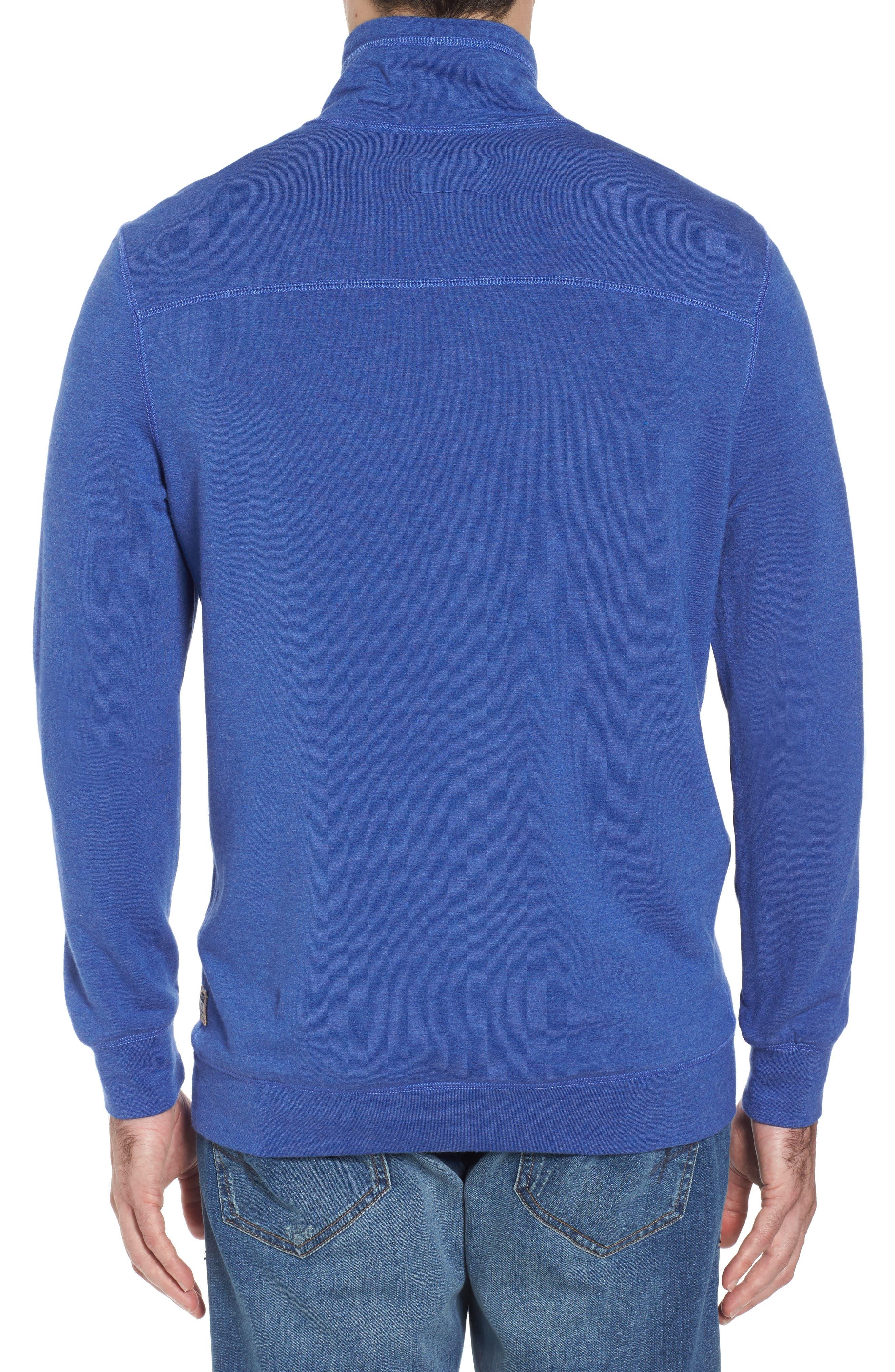 Brushback Quarter Zip Pullover,                             Alternate thumbnail 5, color,