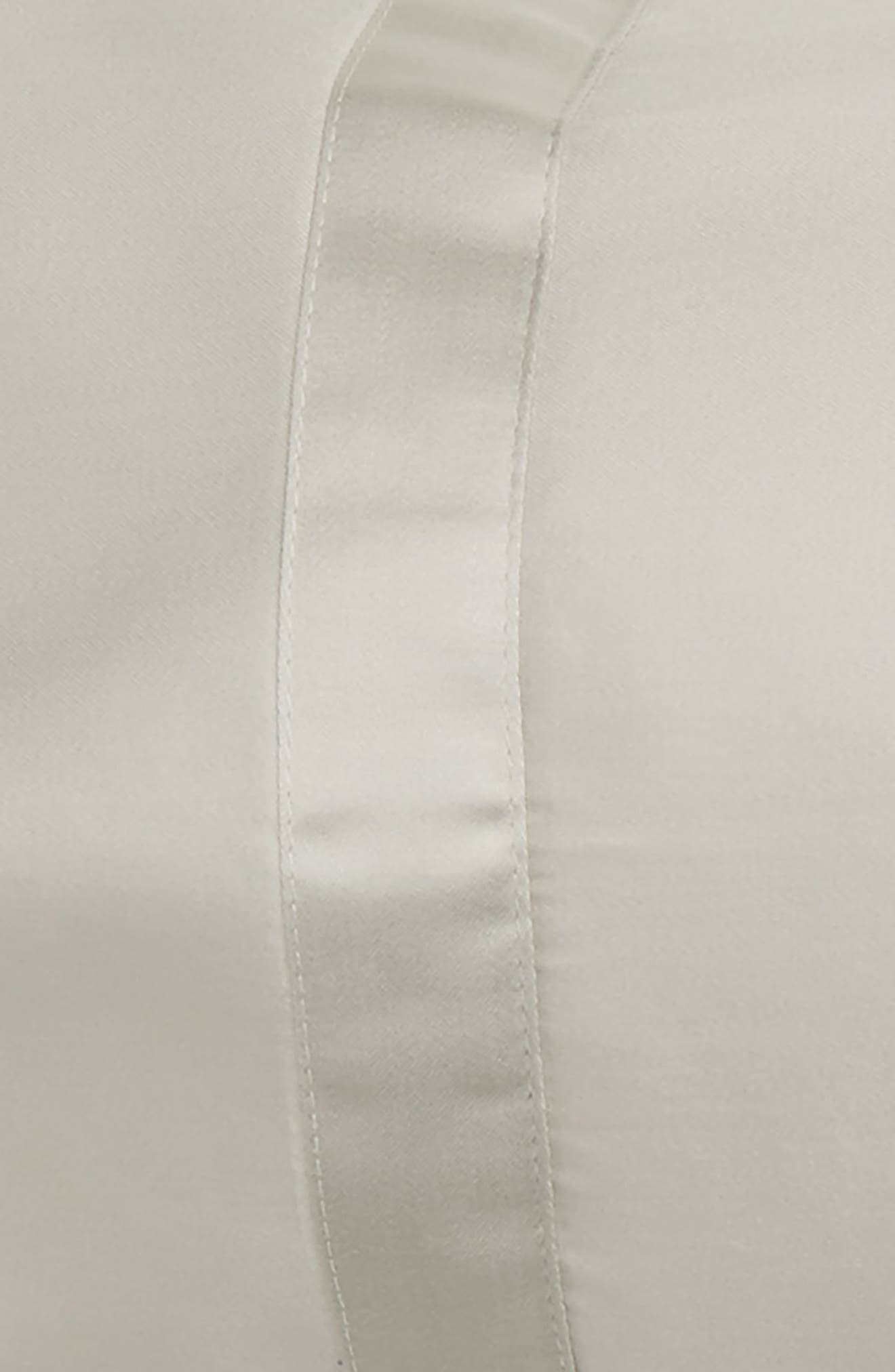 Nocturne 600 Thread Count Neckroll Sham,                             Alternate thumbnail 2, color,                             040