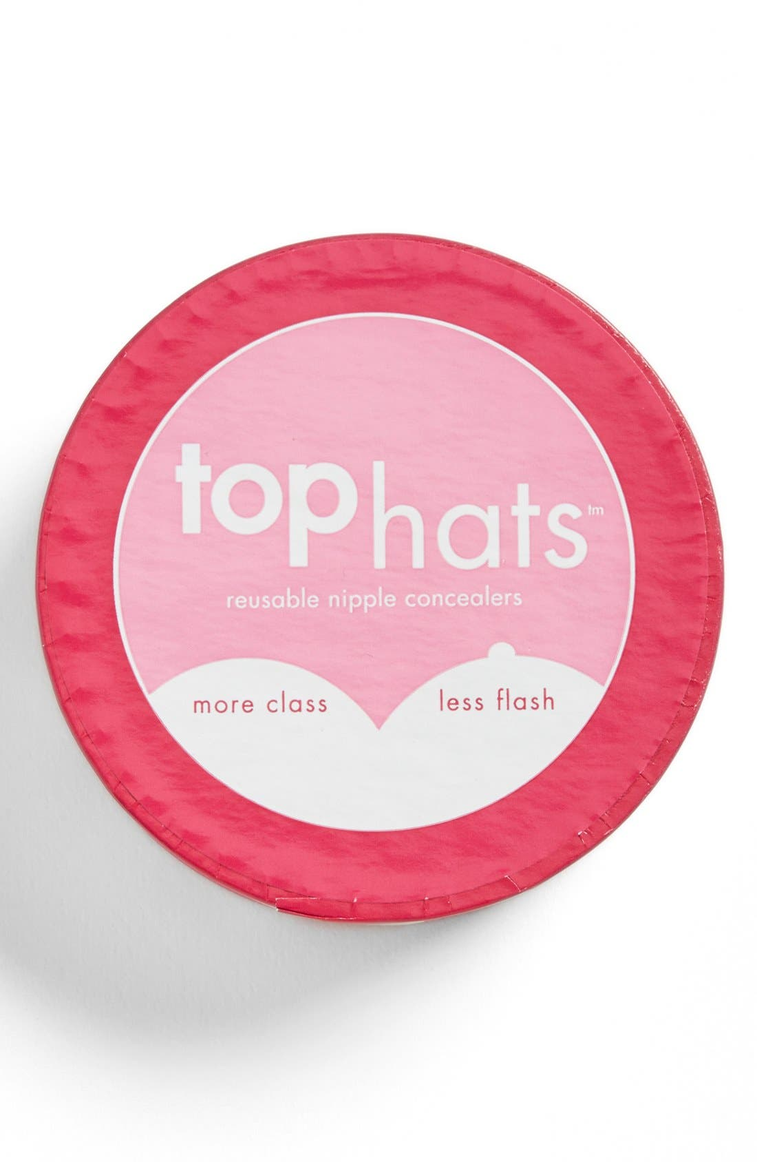 'Top Hats' Nipple Concealers,                             Alternate thumbnail 2, color,                             NUDE