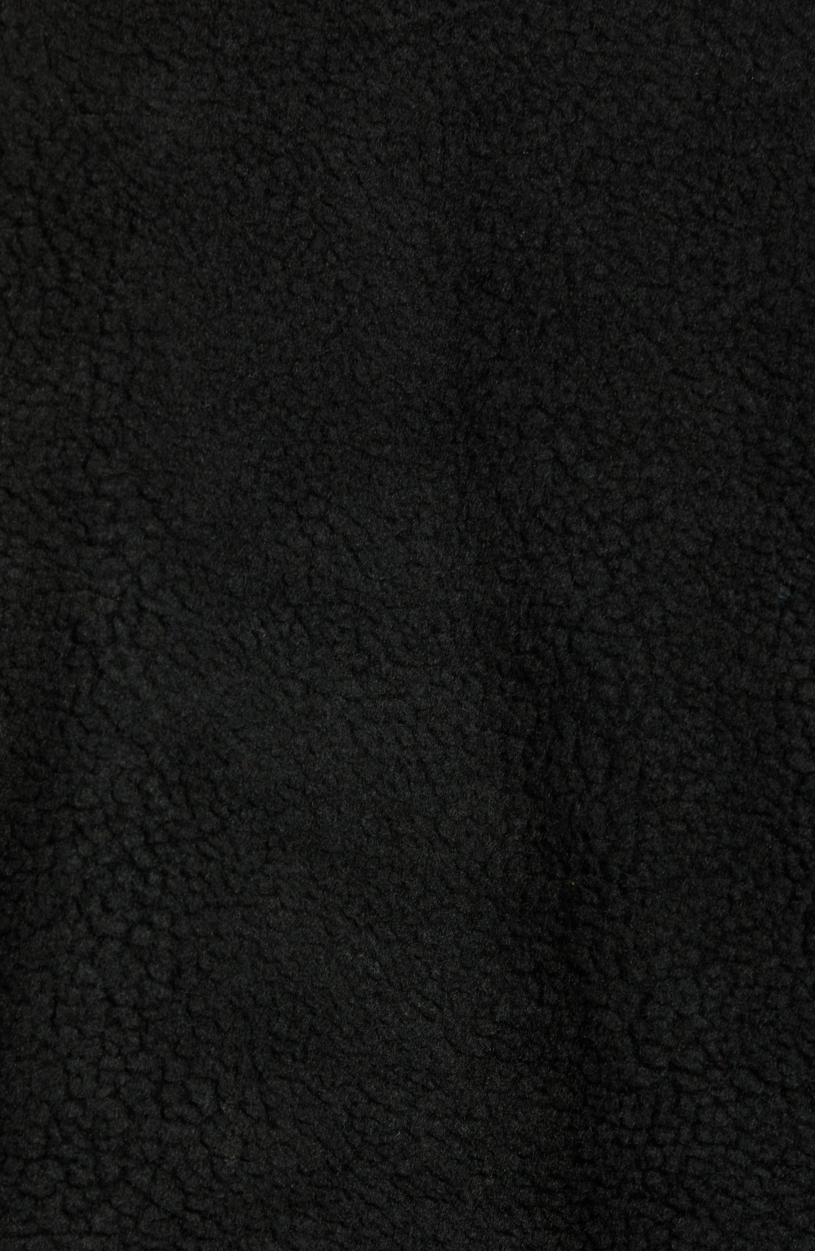 Global Trespassers Fleece Pullover,                             Alternate thumbnail 5, color,                             001