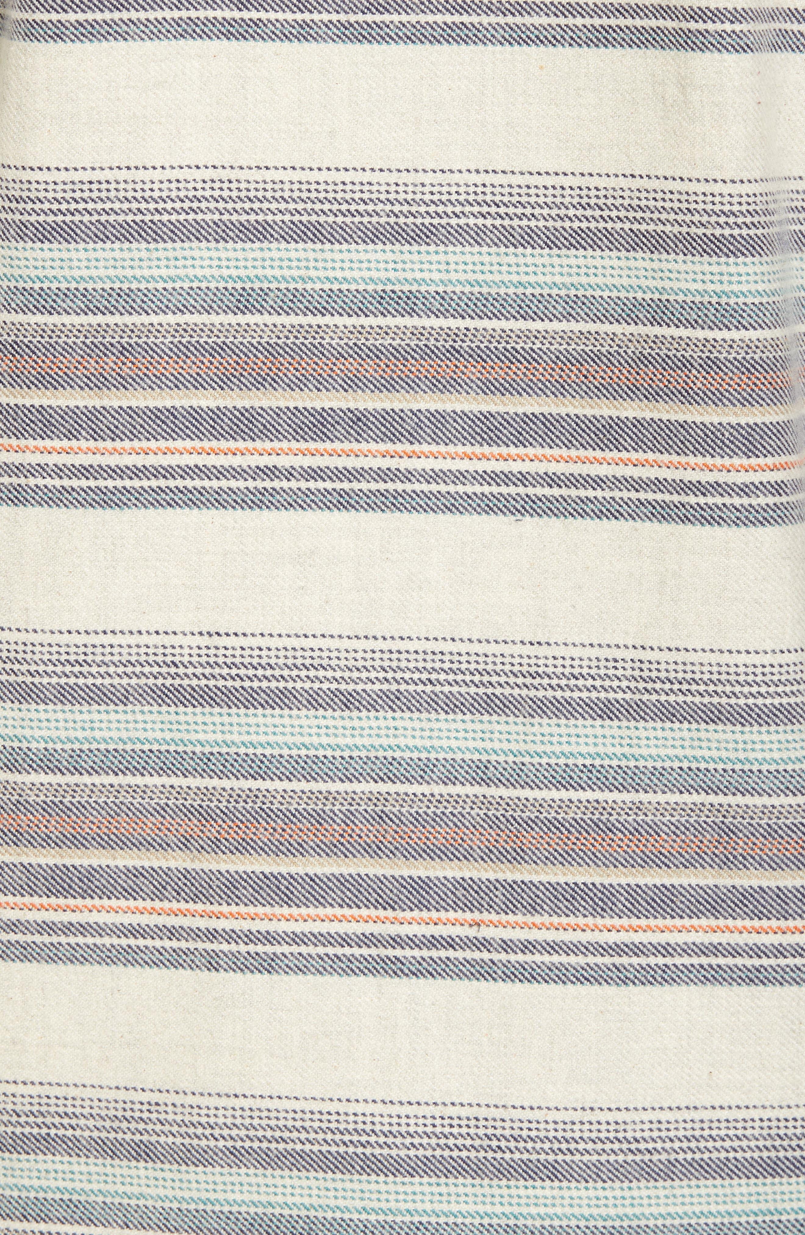 Baja Flannel Hoodie,                             Alternate thumbnail 10, color,