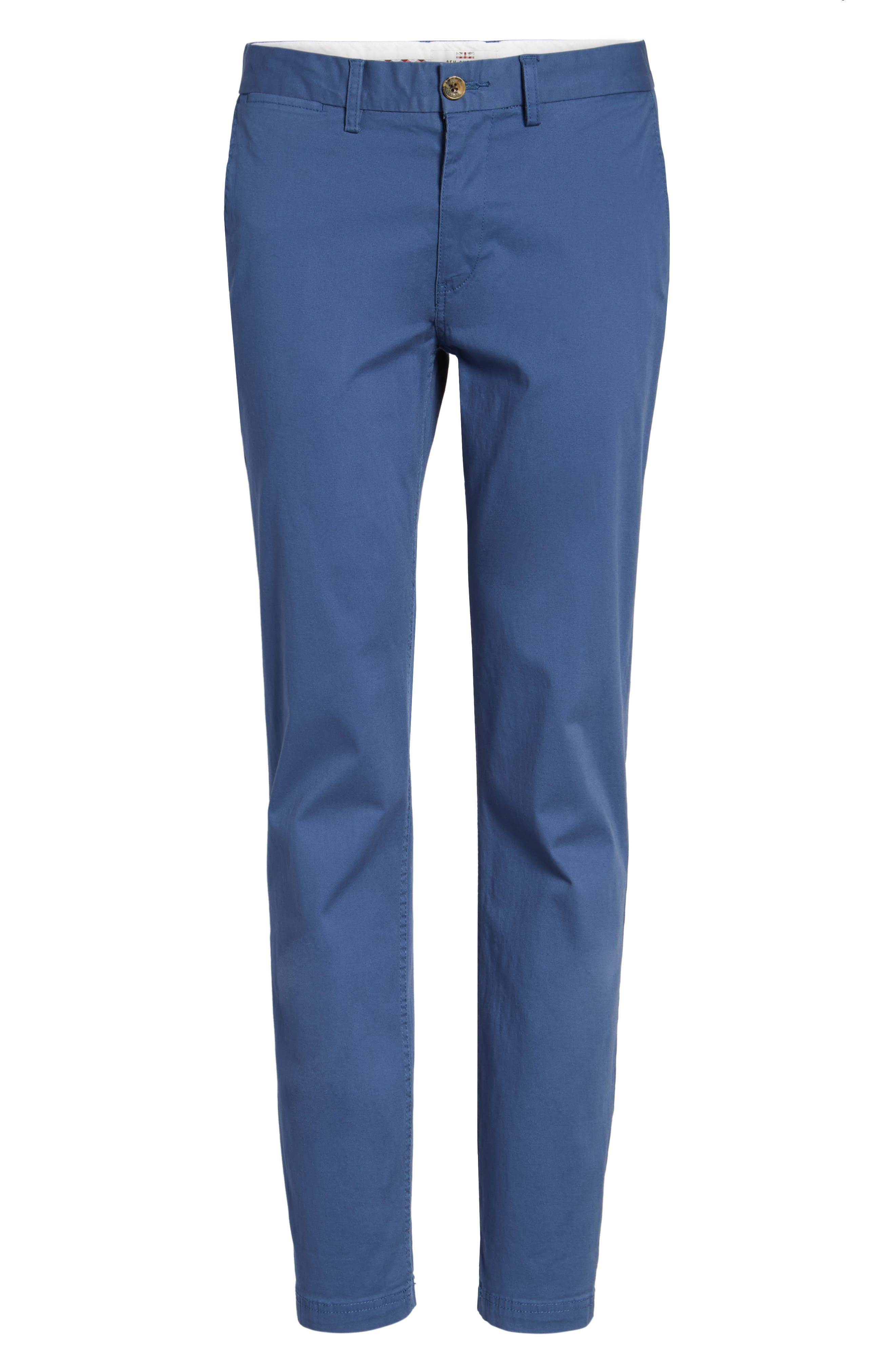 Slim Fit Stretch Chinos,                             Alternate thumbnail 69, color,