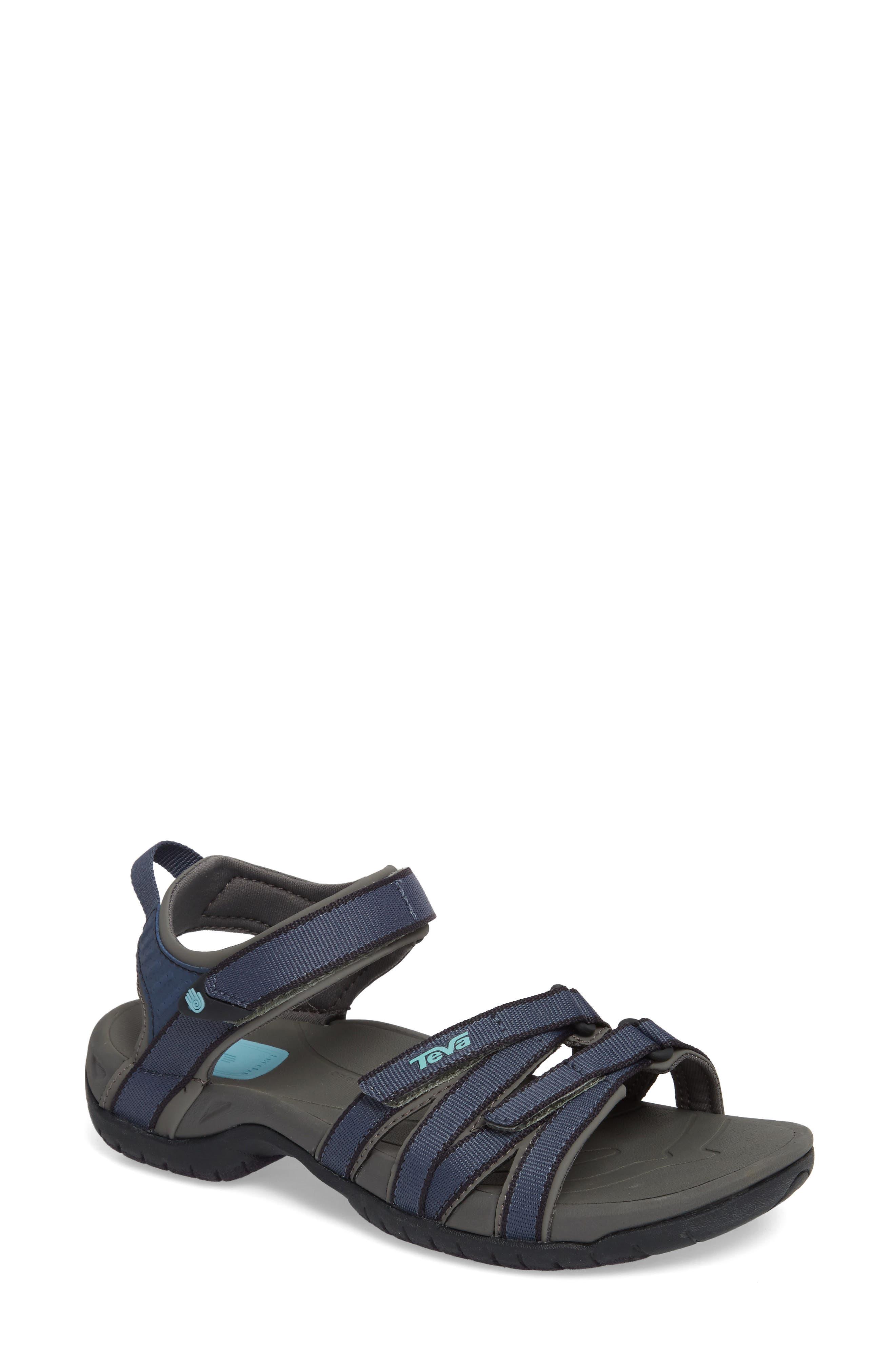 'Tirra' Sandal,                         Main,                         color, BERING SEA
