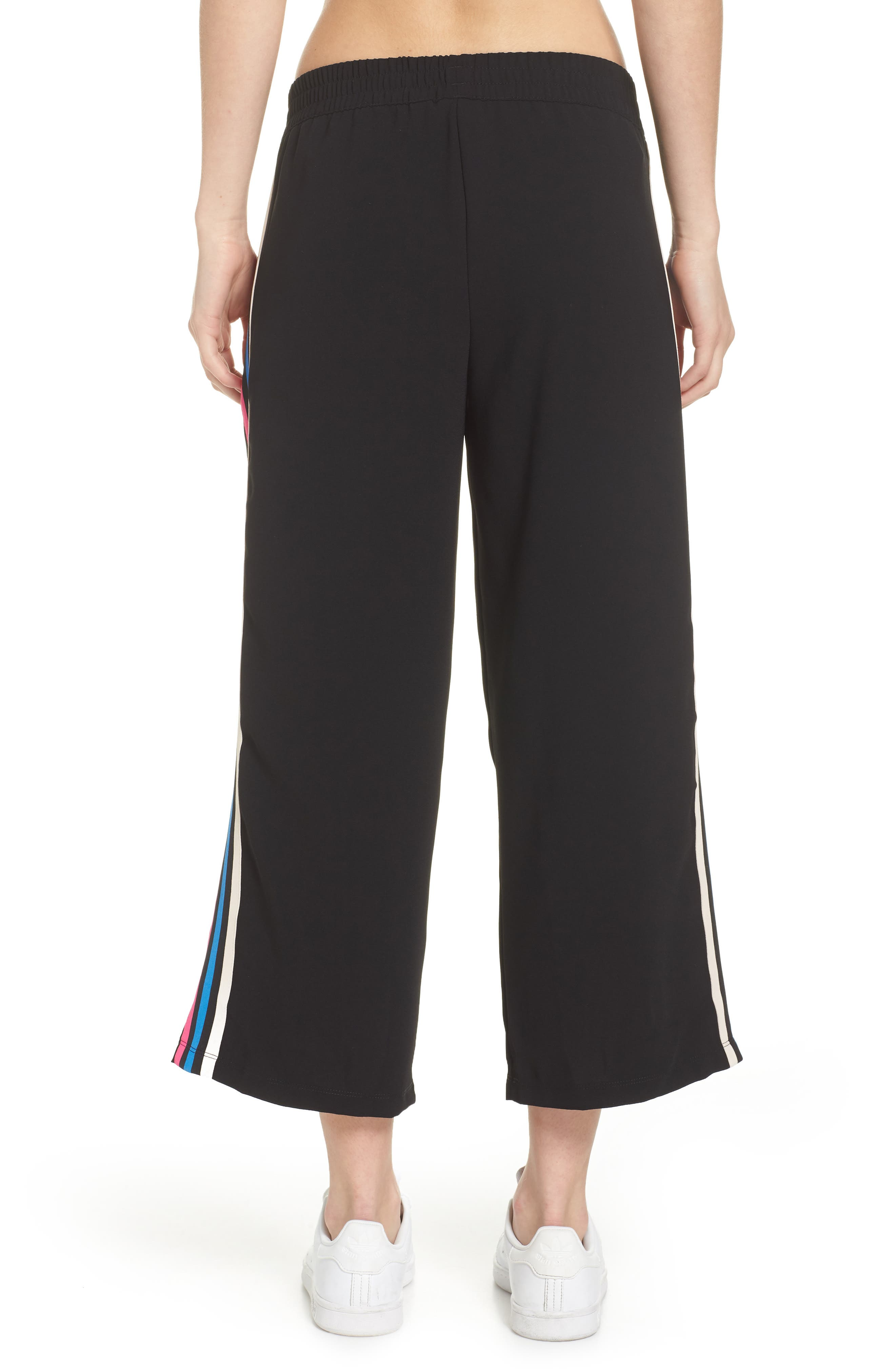 adidas Crop Track Pants,                             Alternate thumbnail 2, color,                             001