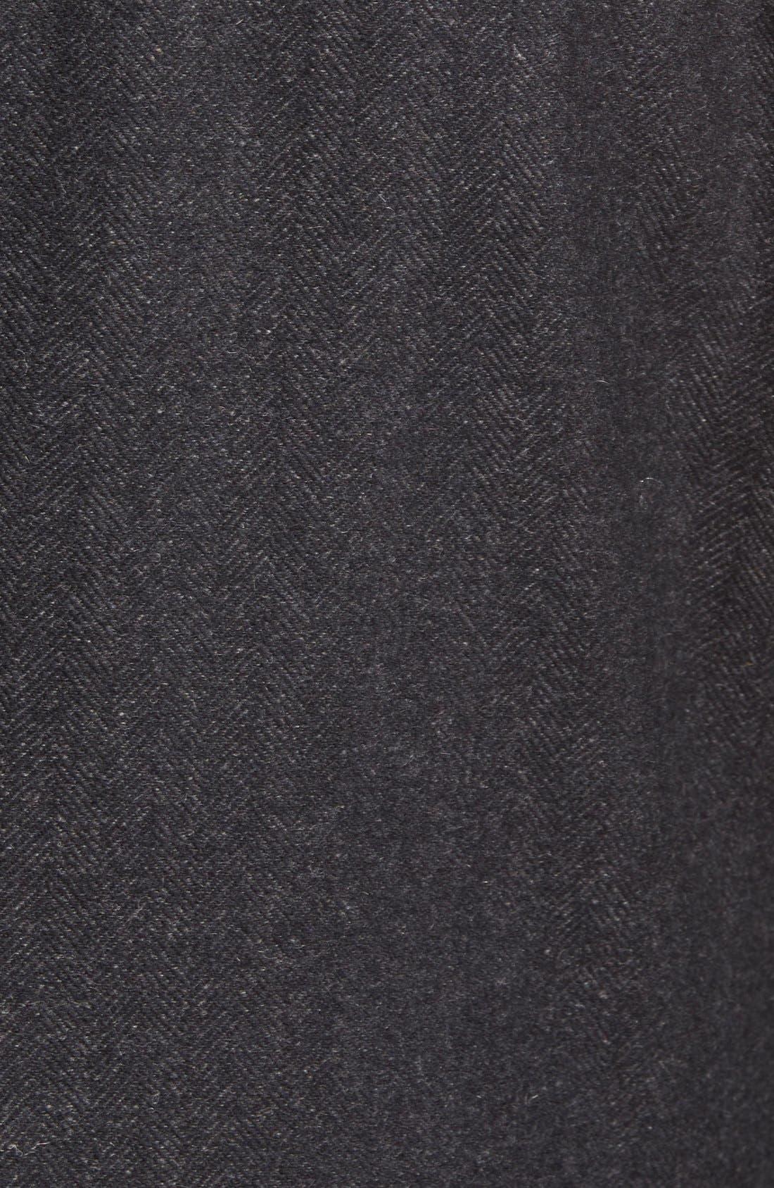 Maitland Modern Fit Wool Blend Overcoat,                             Alternate thumbnail 3, color,                             035