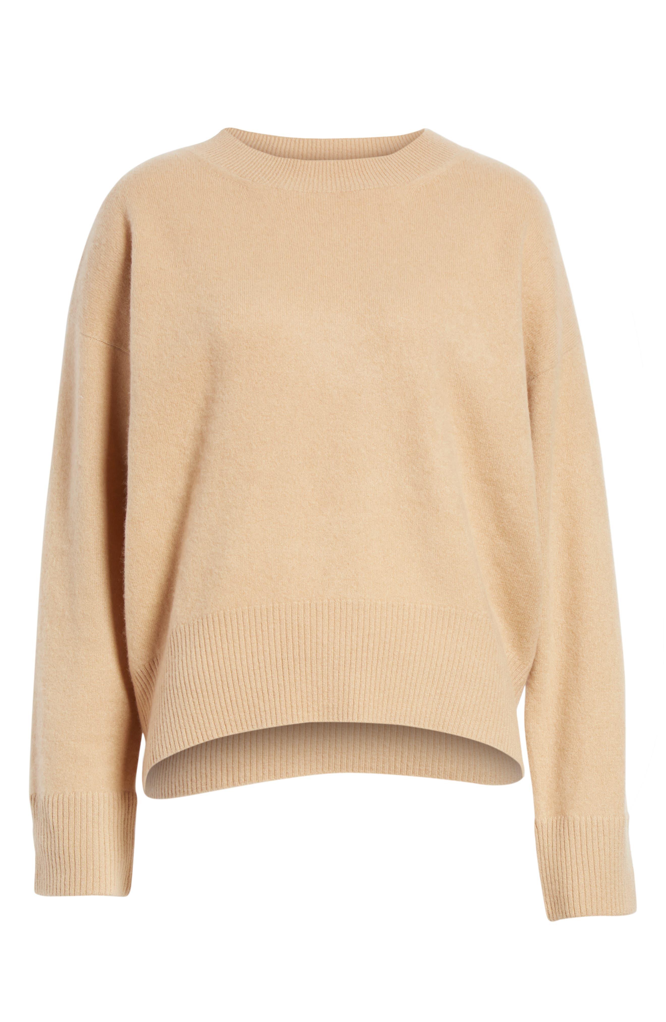 Cashmere Oversize Sweater,                             Alternate thumbnail 6, color,                             203