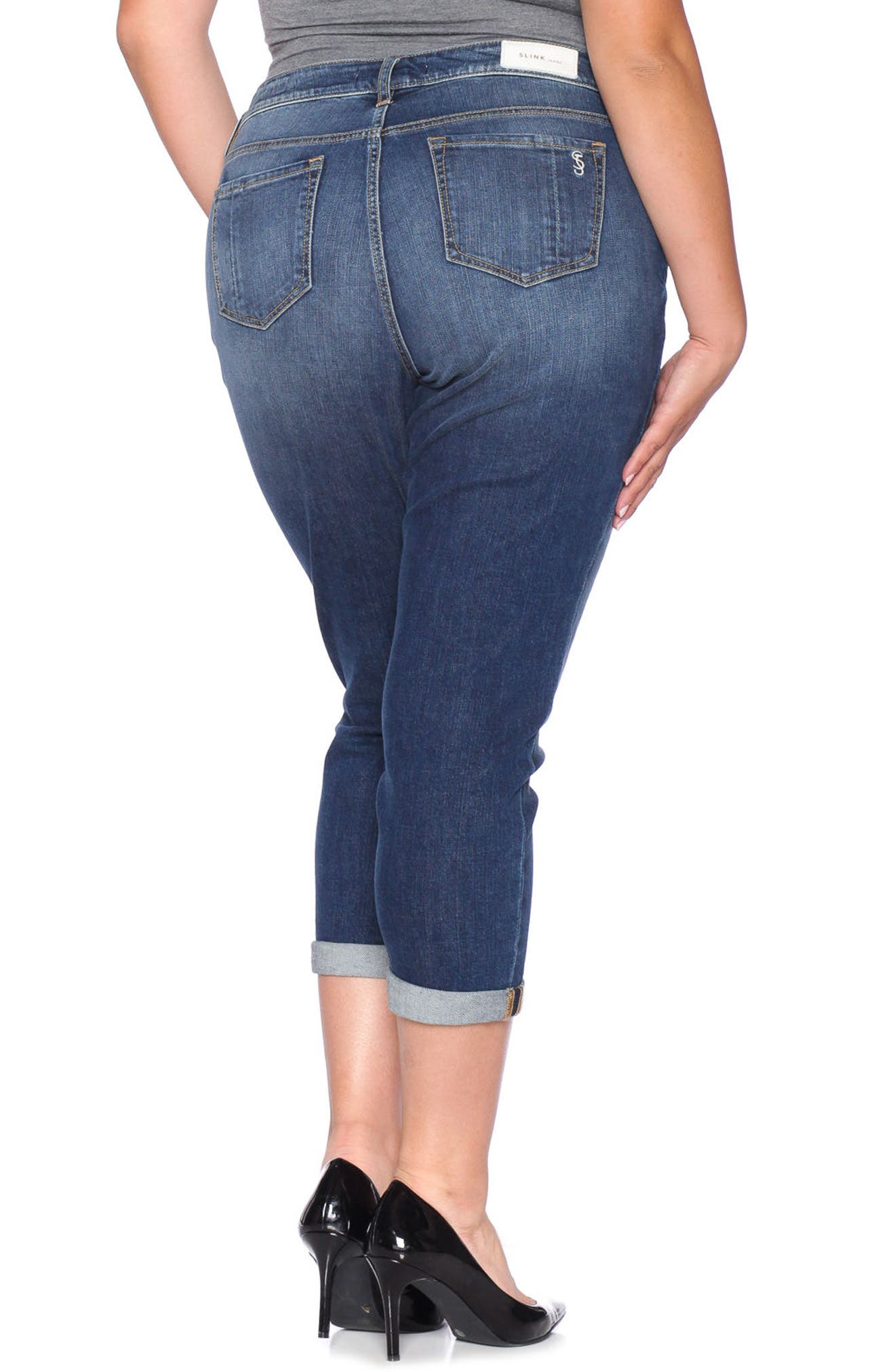 Easy Fit Mid-Rise Skinny Jeans,                             Alternate thumbnail 2, color,                             437