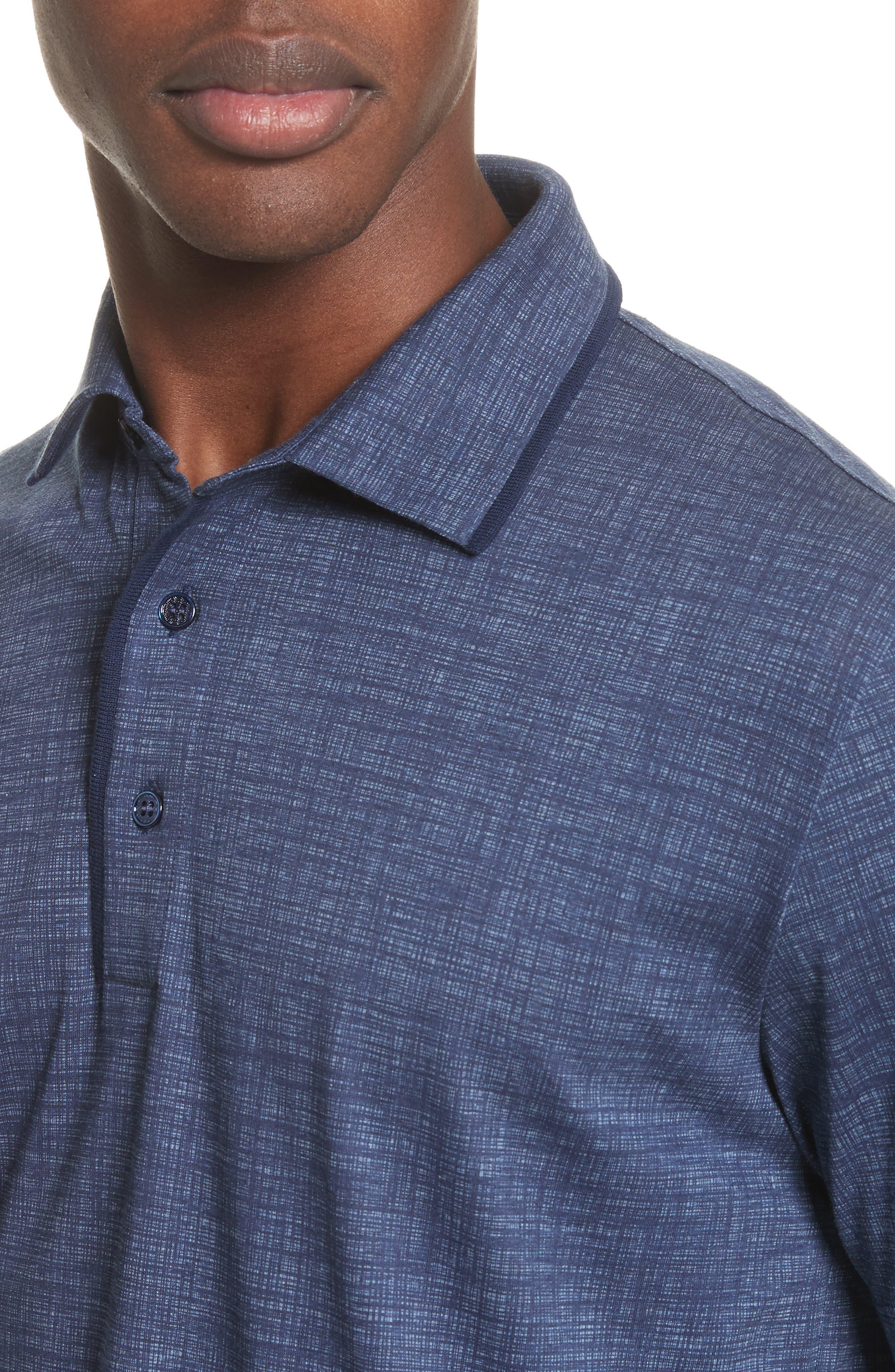 Cotton Polo Shirt,                             Alternate thumbnail 4, color,                             410