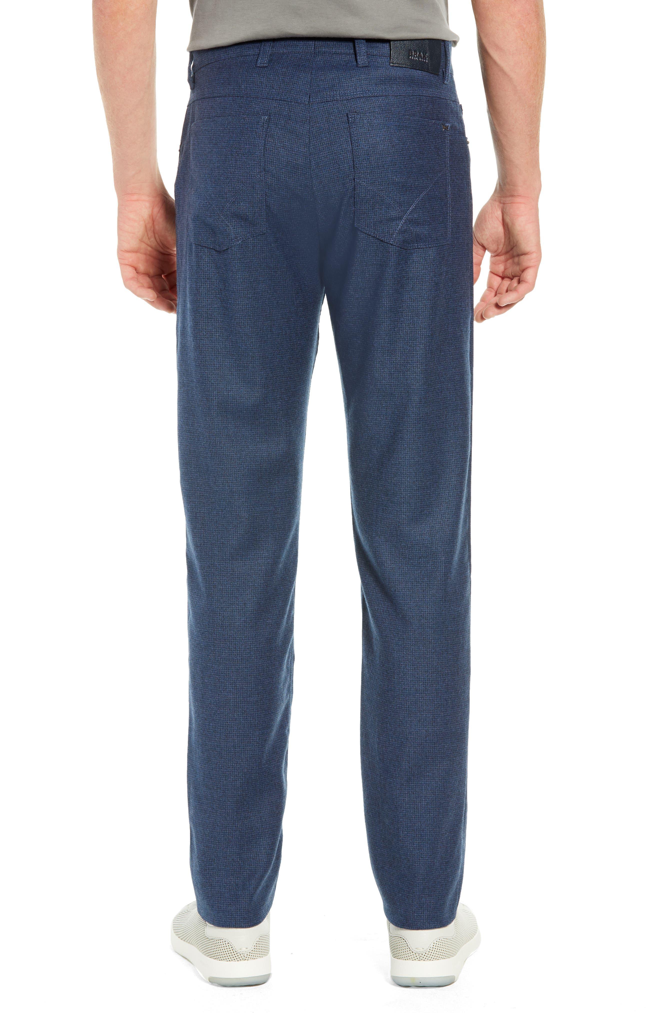 Cadiz Five-Pocket Stretch Wool Trousers,                             Alternate thumbnail 2, color,                             MIDNIGHT