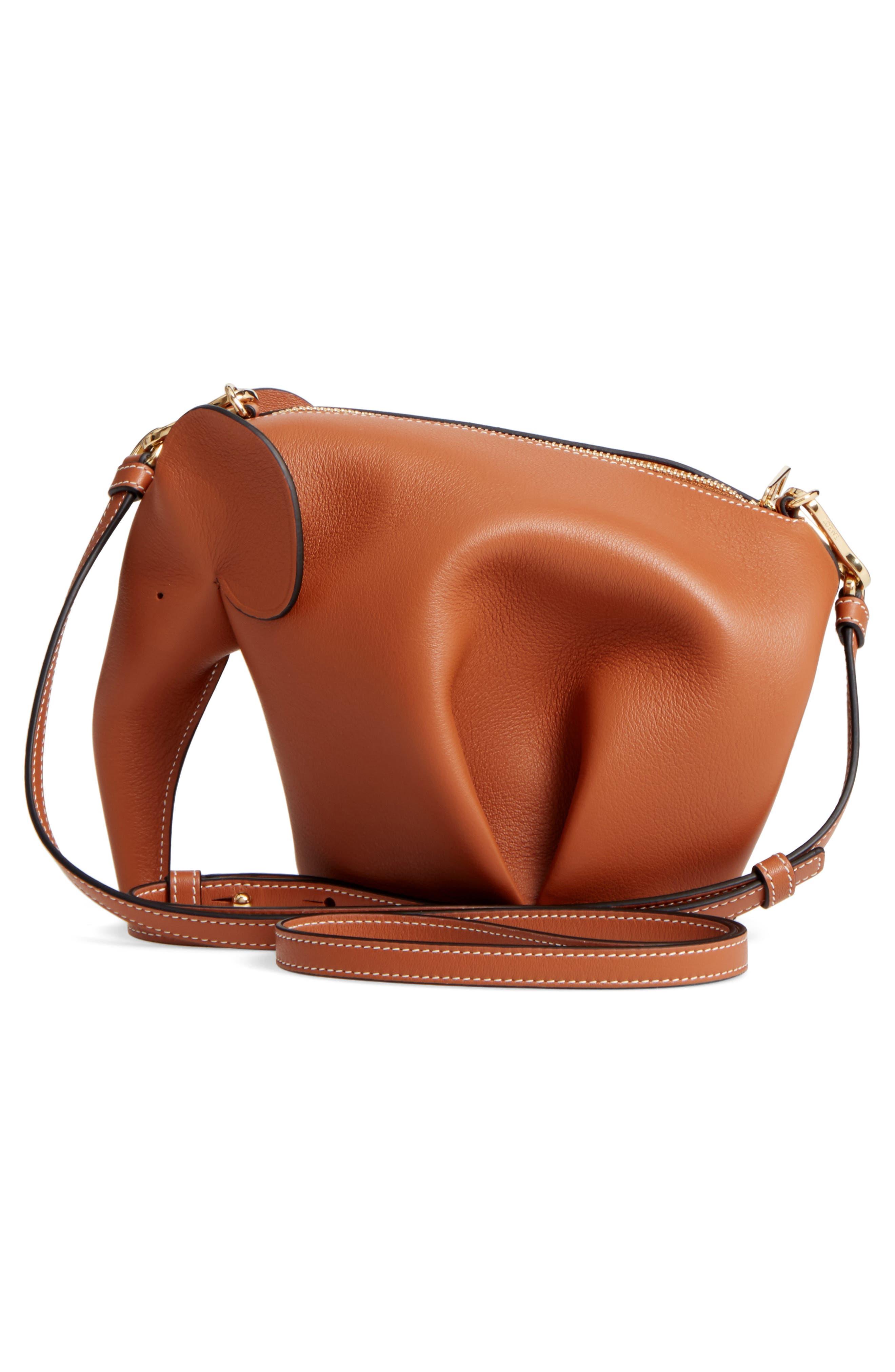 'Mini Elephant' Crossbody Bag,                             Alternate thumbnail 20, color,