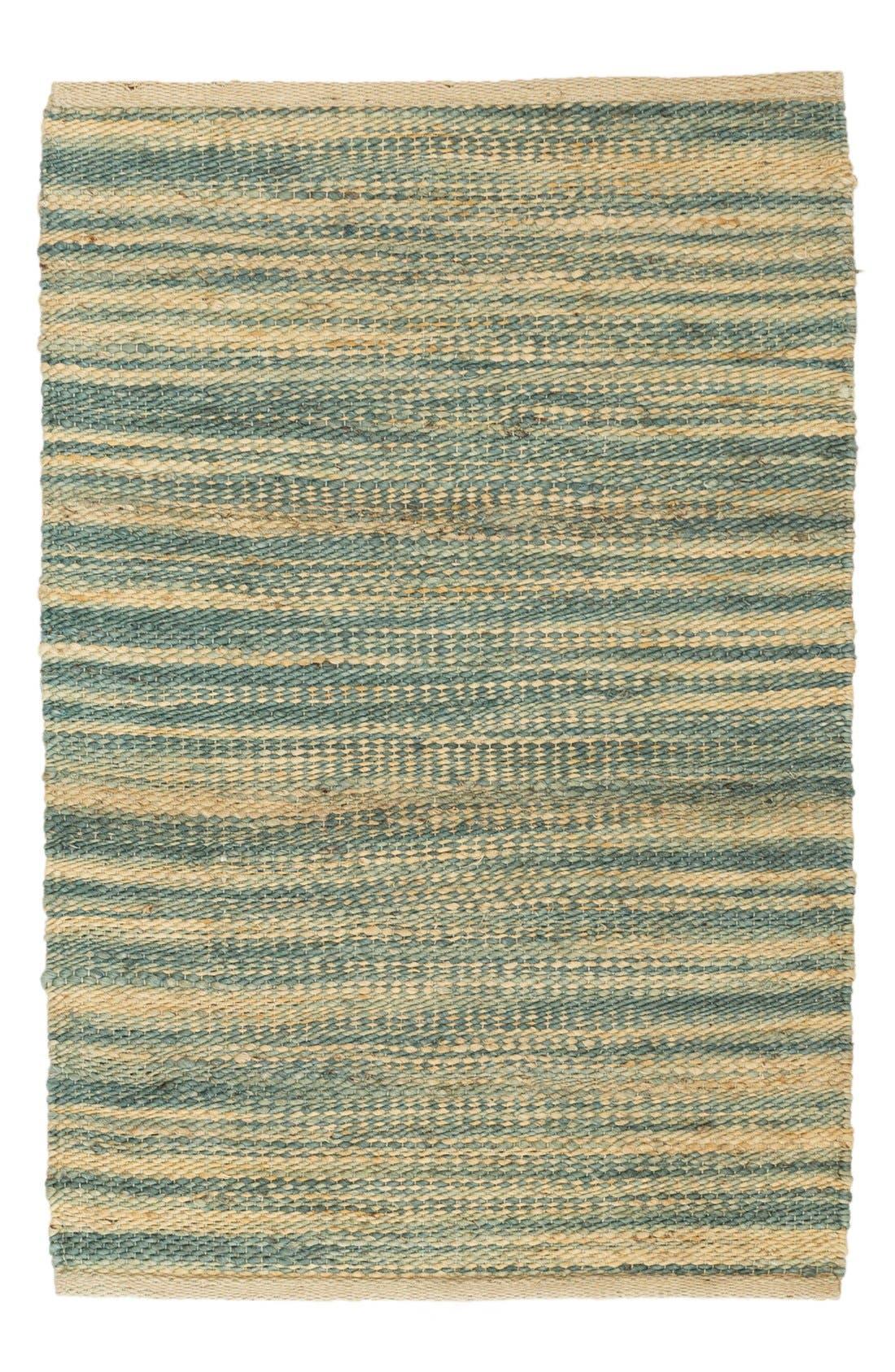 Haze Handwoven Rug,                         Main,                         color, BLUE
