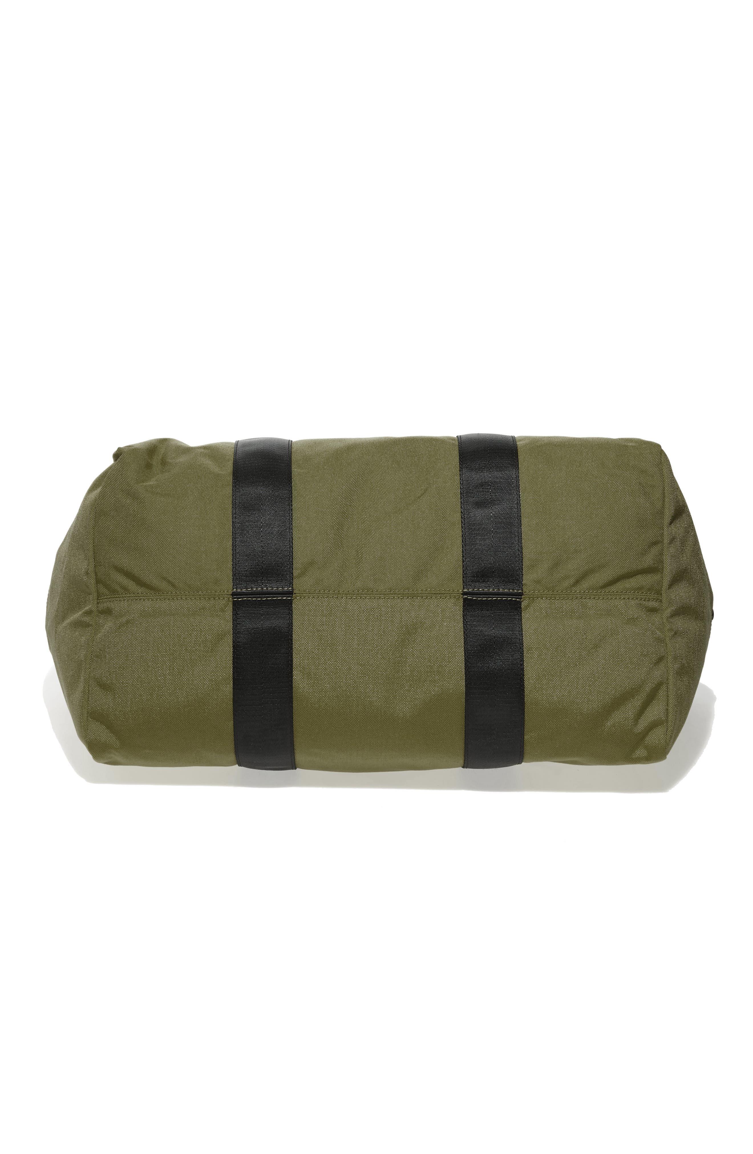 SWS 50L Roll Top Duffel Bag,                             Alternate thumbnail 6, color,                             OLIVE