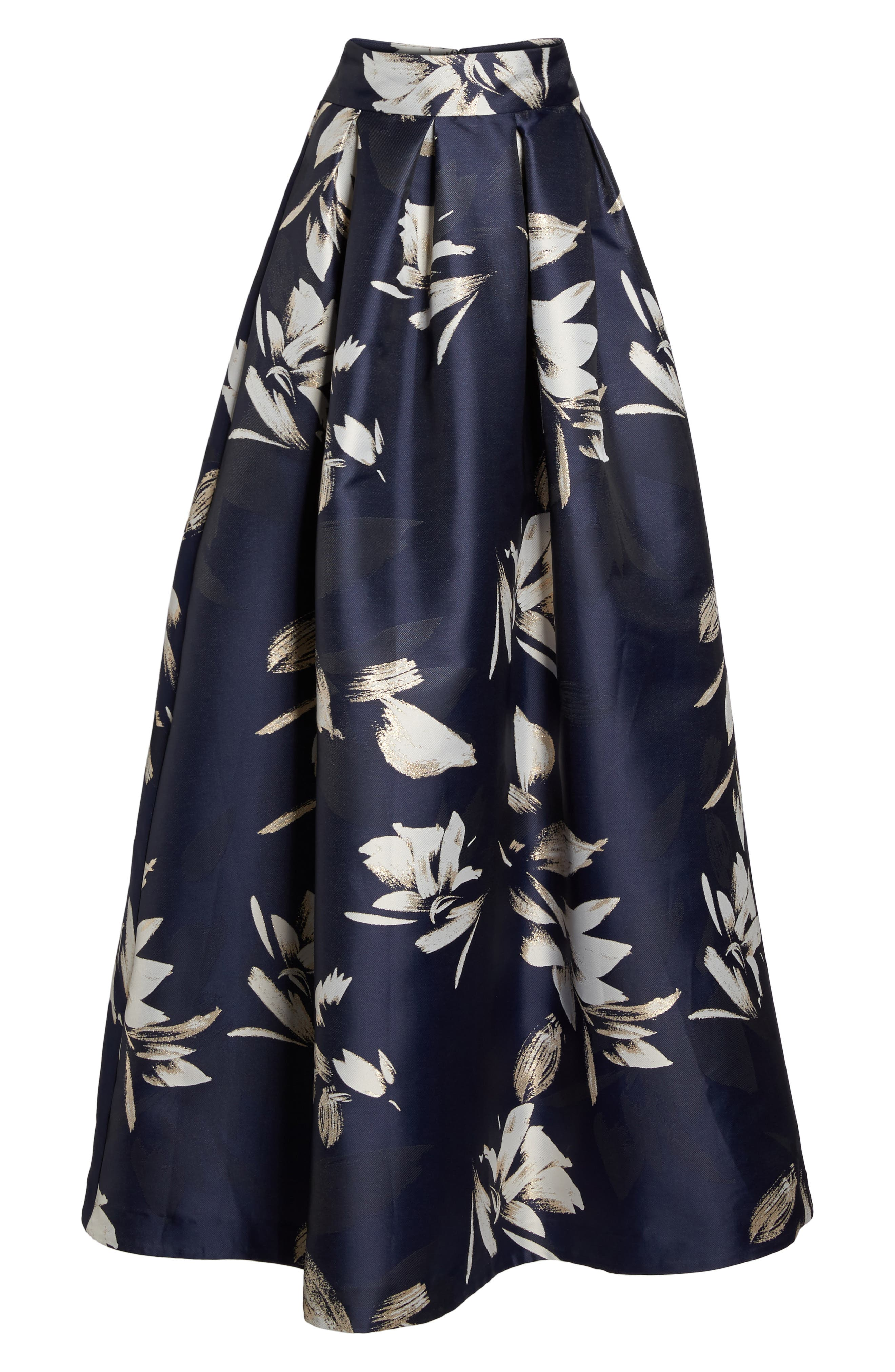 Metallic Jacquard Ball Skirt,                             Main thumbnail 1, color,                             410