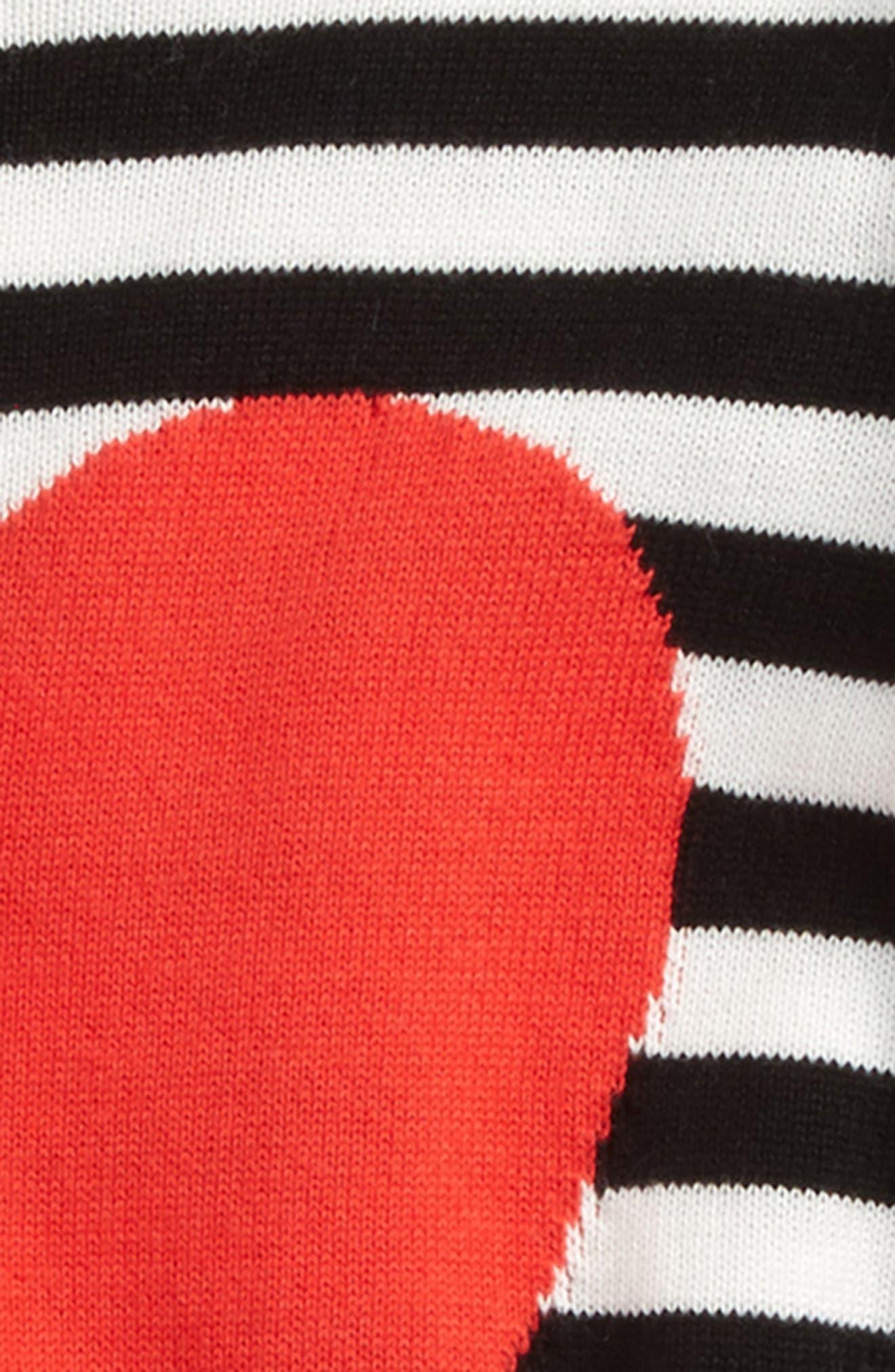 Ruffle Icon Sweater,                             Alternate thumbnail 2, color,                             001