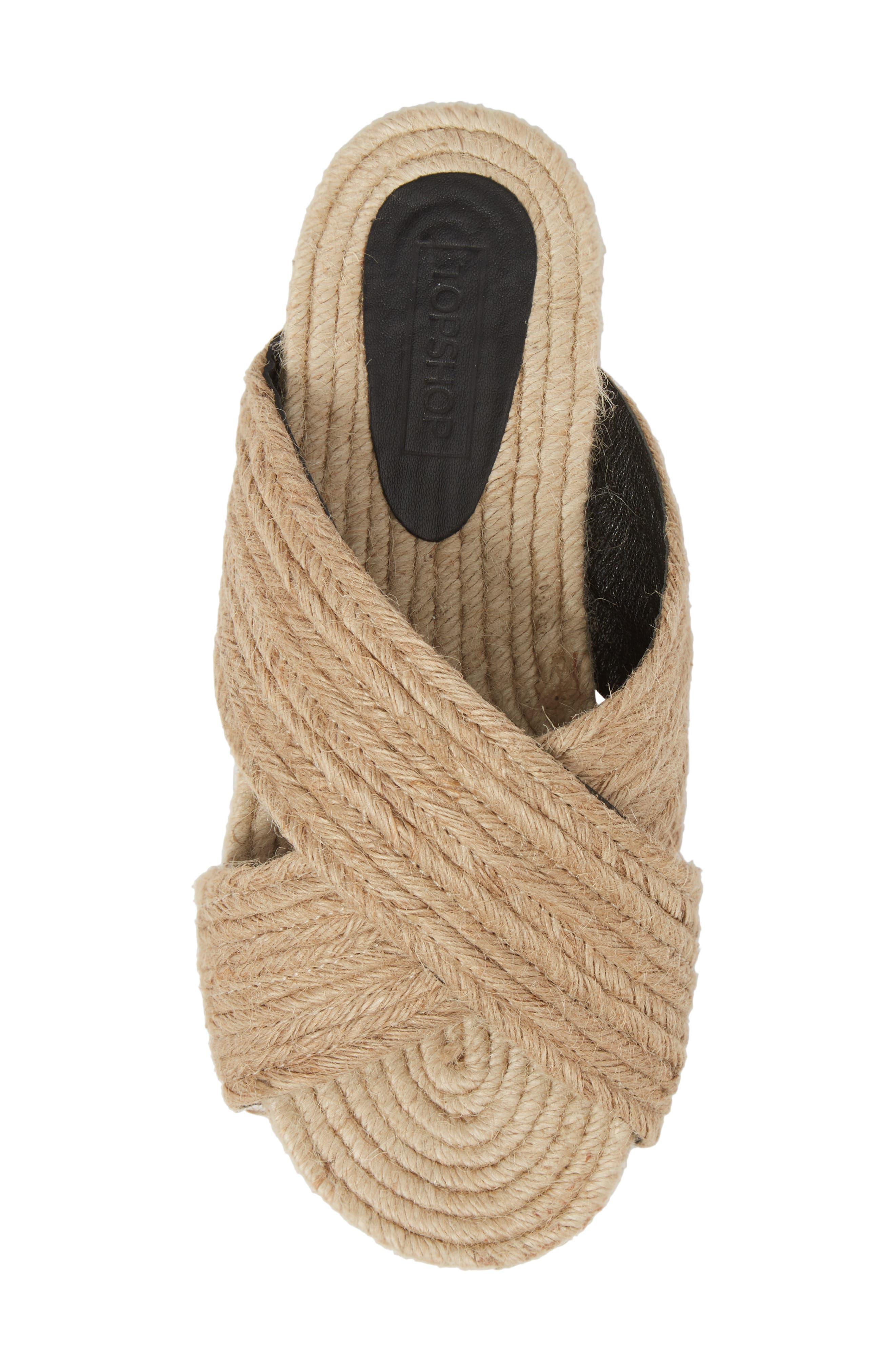Felilx Rope Slide Sandal,                             Alternate thumbnail 5, color,                             250