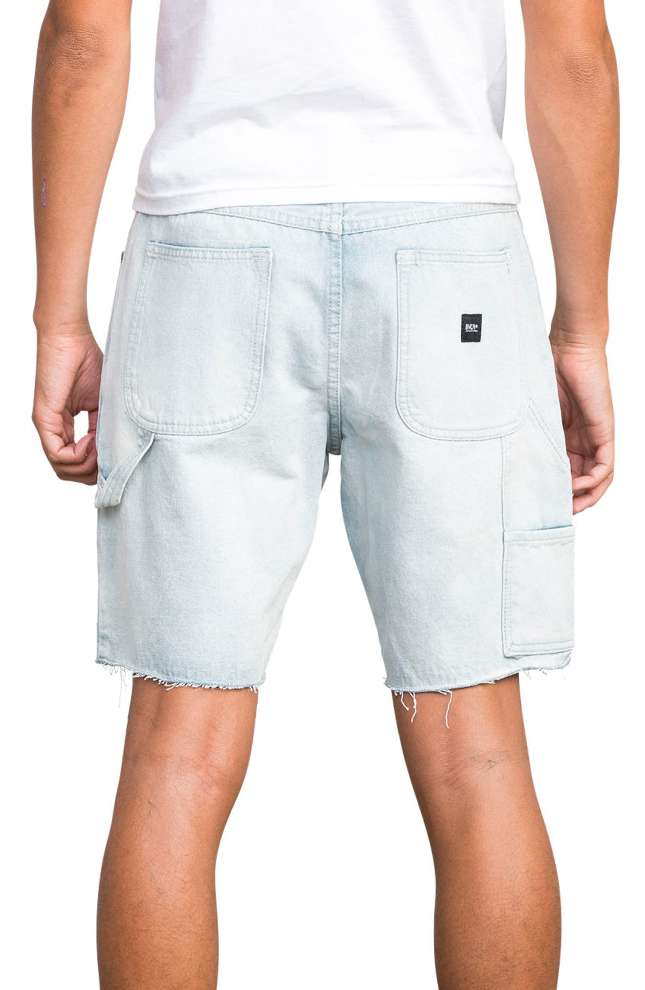 Work It Denim Shorts,                             Alternate thumbnail 2, color,                             401