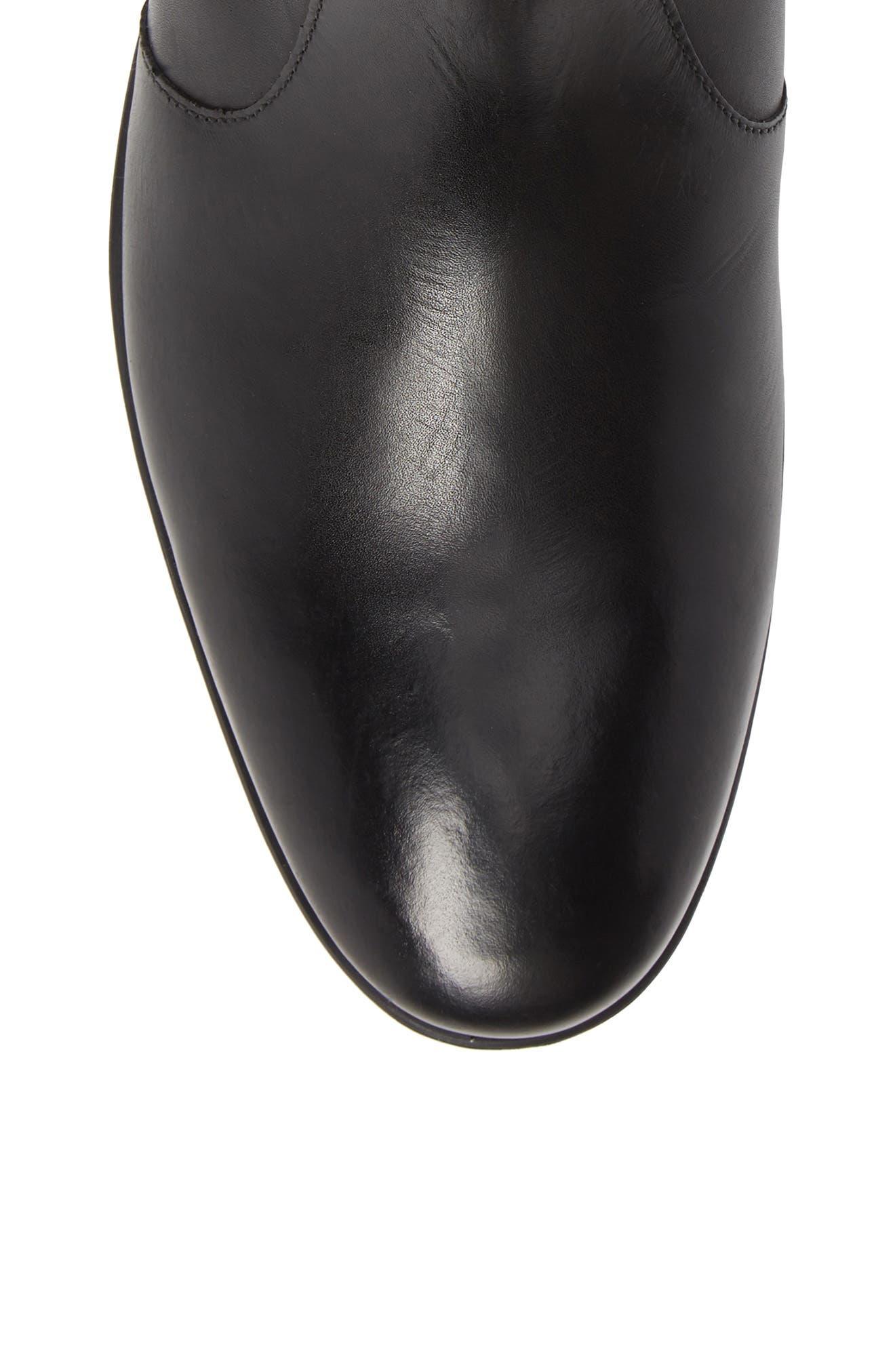 Zip Boot,                             Alternate thumbnail 5, color,                             BLACK