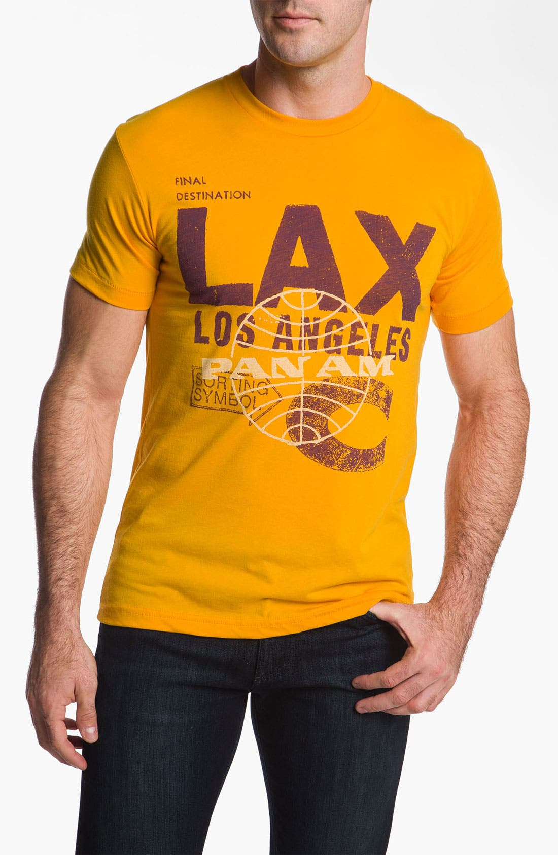'Pan Am LAX' T-Shirt,                             Main thumbnail 1, color,                             710
