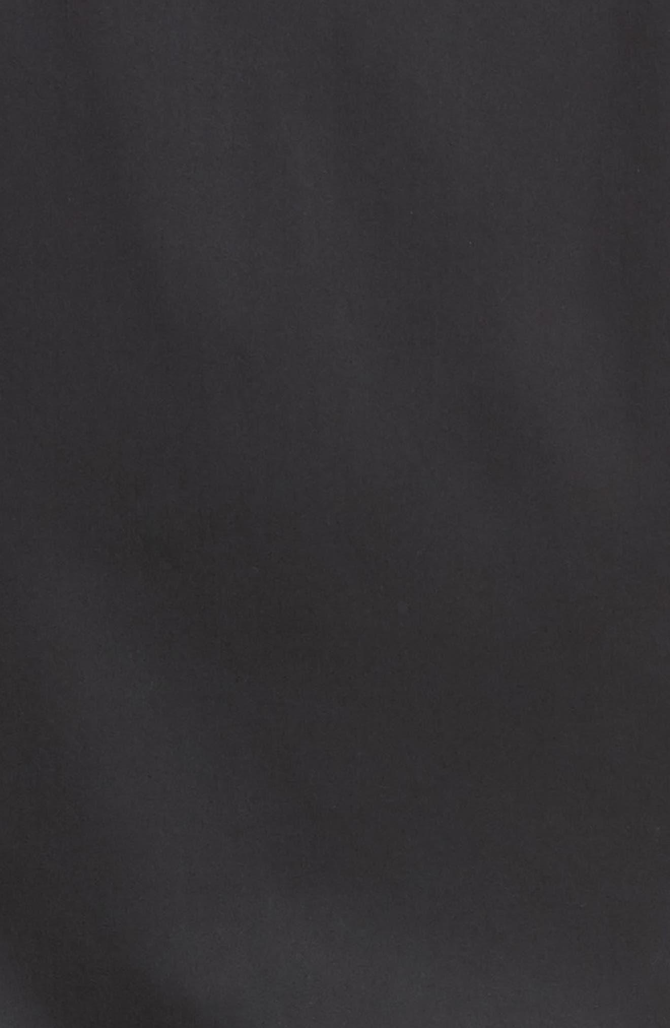 Woven & Knit Jacket,                             Alternate thumbnail 6, color,                             001