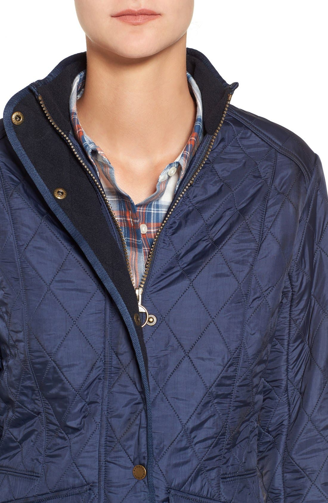 'Cavalry' Quilted Jacket,                             Alternate thumbnail 44, color,