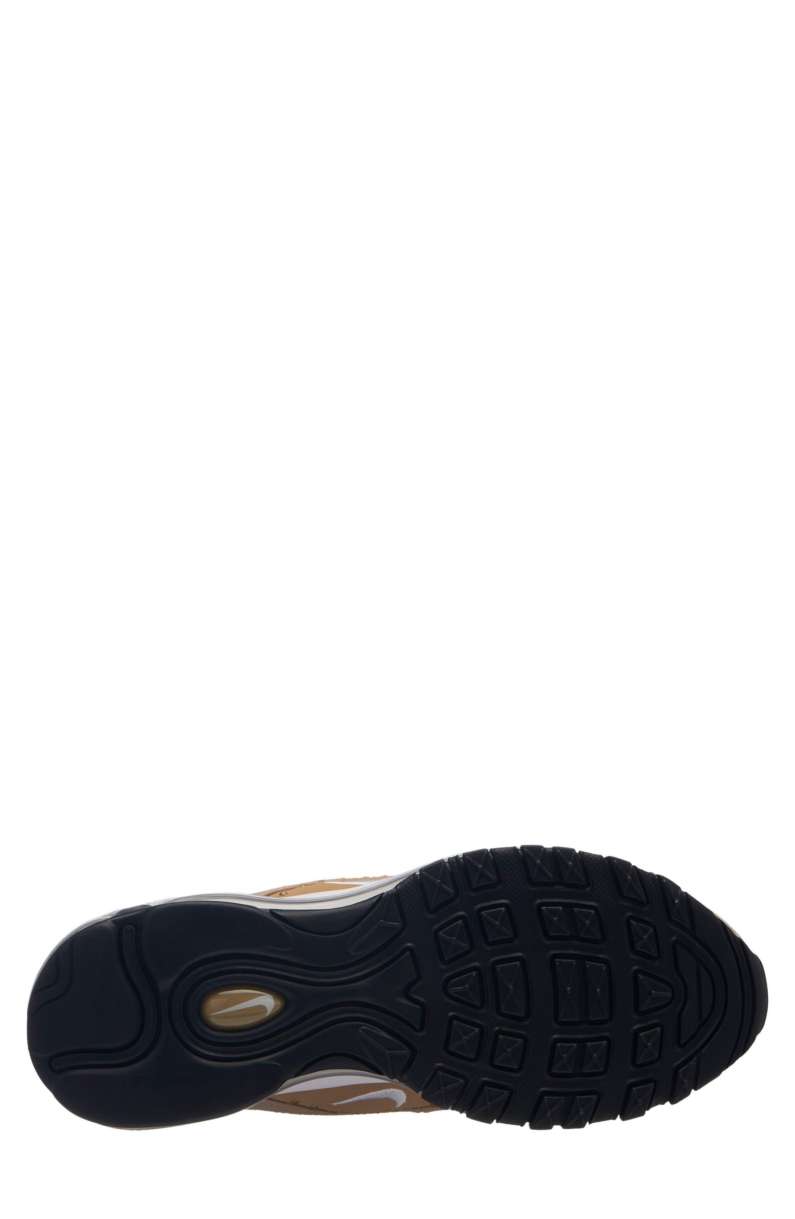 Air Max 97 SE Sneaker,                             Alternate thumbnail 2, color,                             BEIGE/ WHITE-BLACK