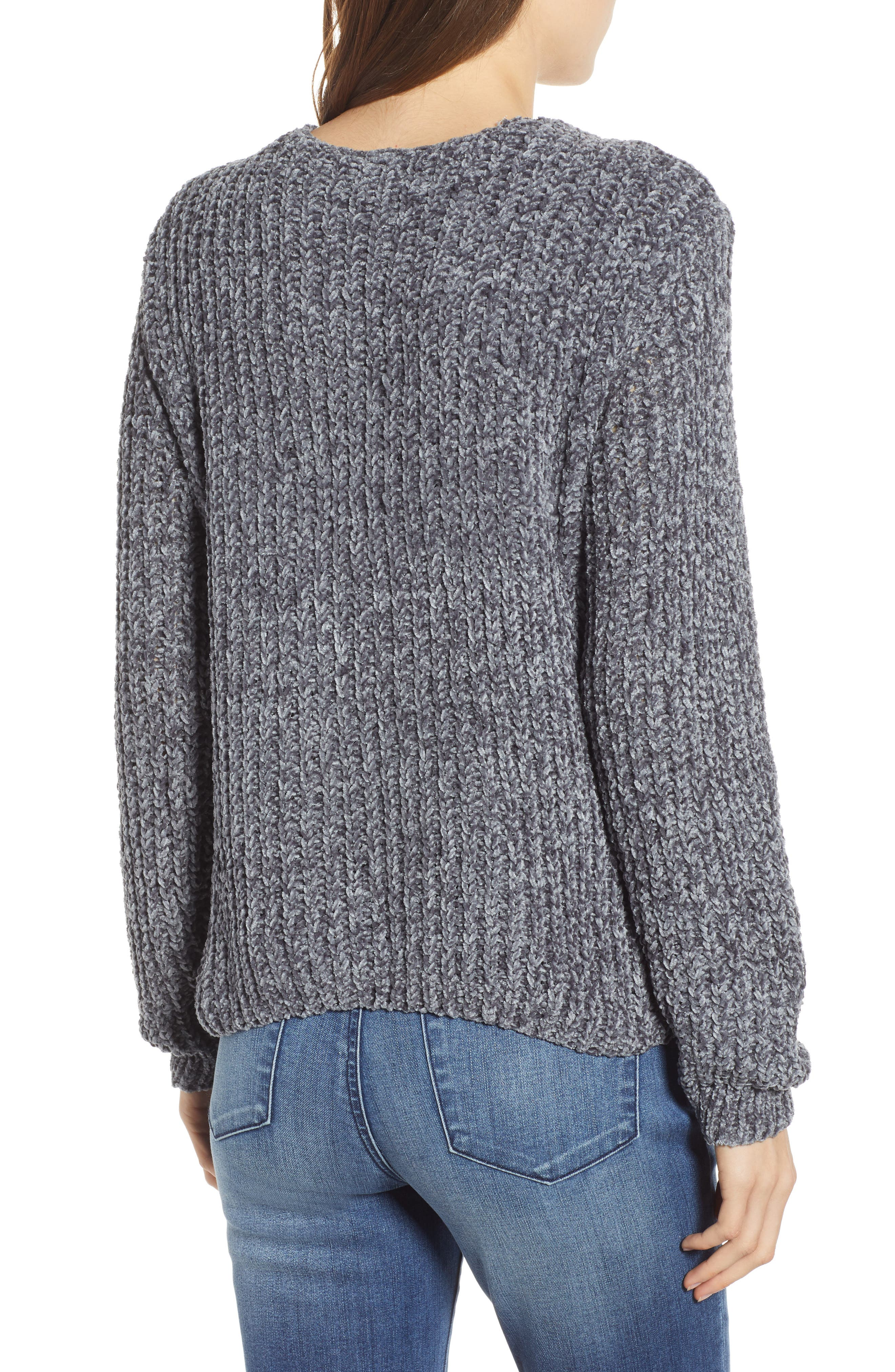 Padang Paradise Chenille Sweater,                             Alternate thumbnail 2, color,                             020