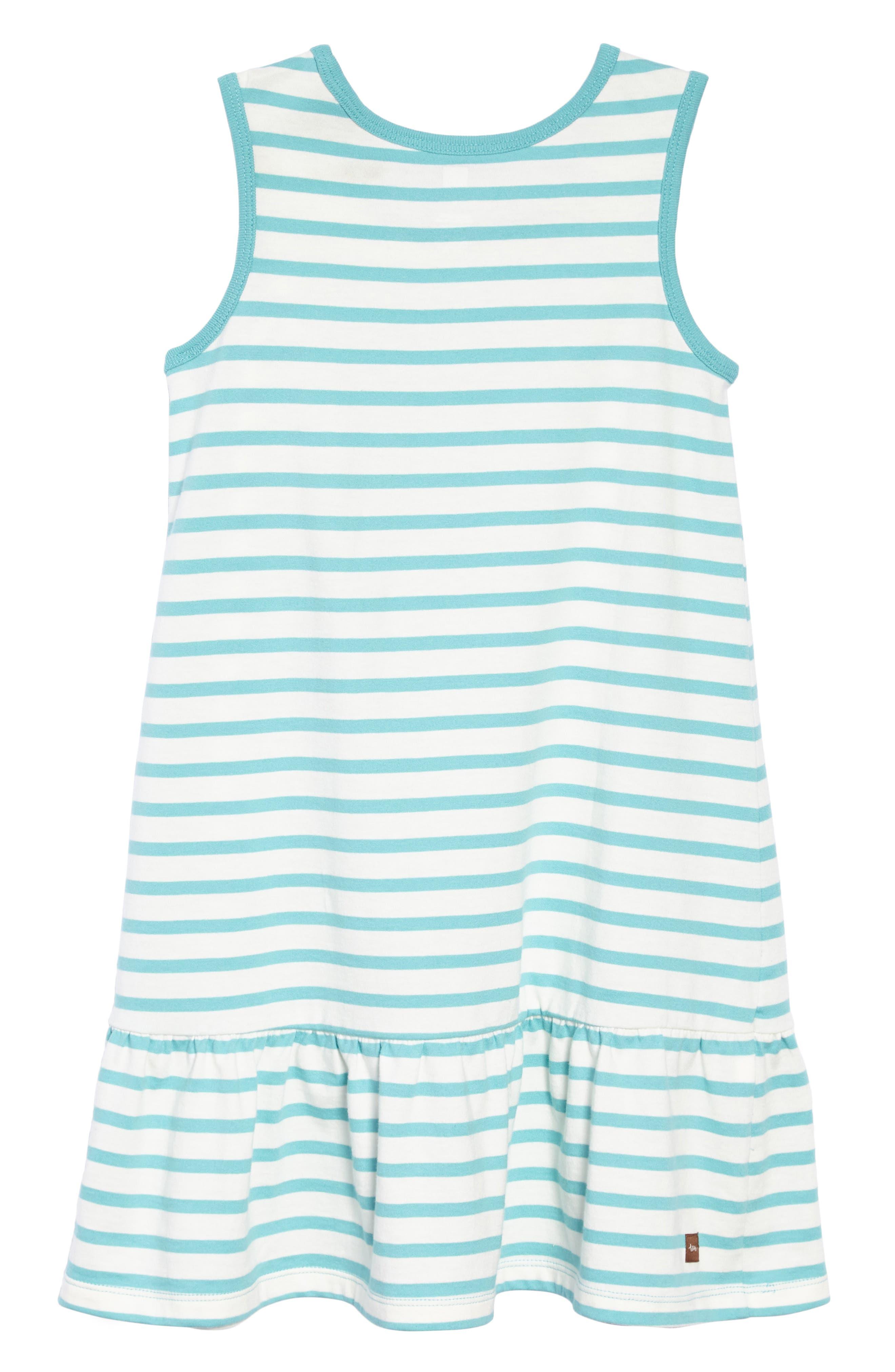 Stripe Tank Dress,                             Alternate thumbnail 5, color,