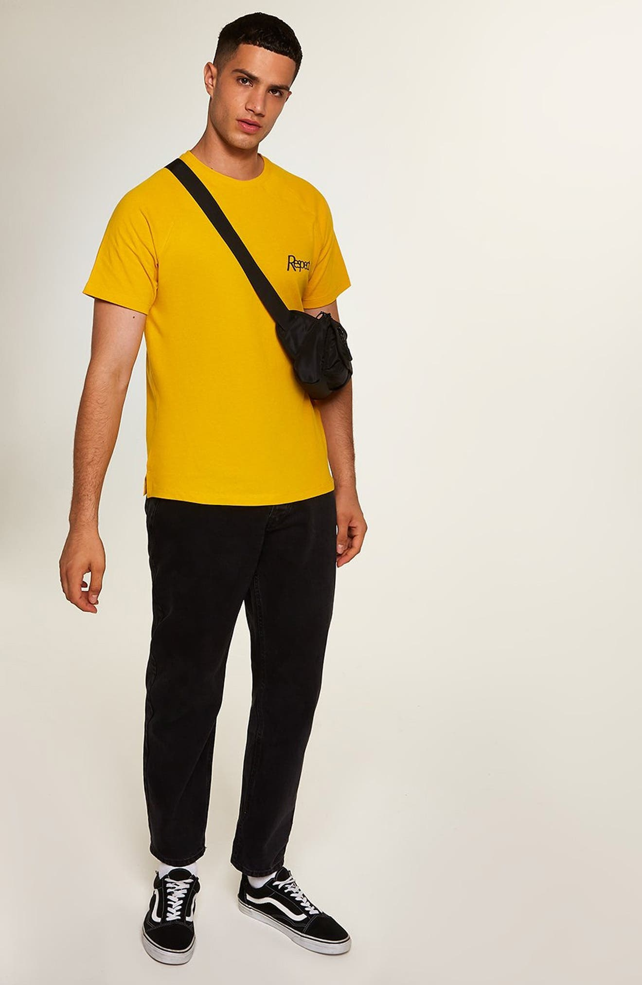 Respect Classic Fit T-Shirt,                             Alternate thumbnail 5, color,                             710