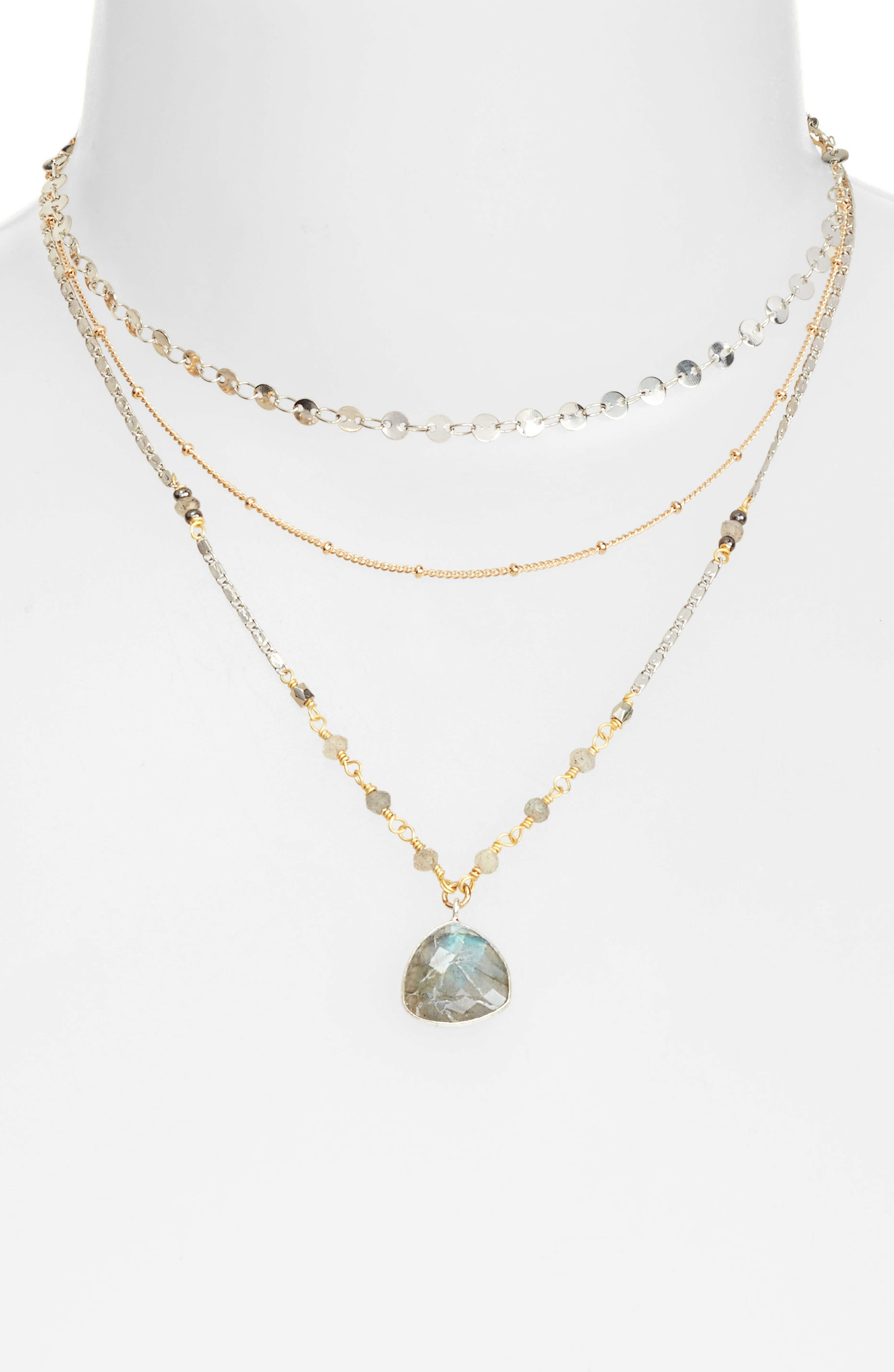Multistrand Necklace,                             Alternate thumbnail 2, color,                             020