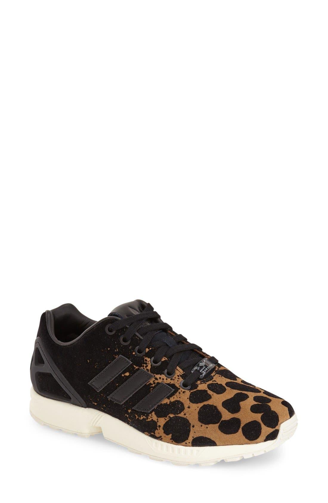 'ZX Flux' Sneaker, Main, color, 001