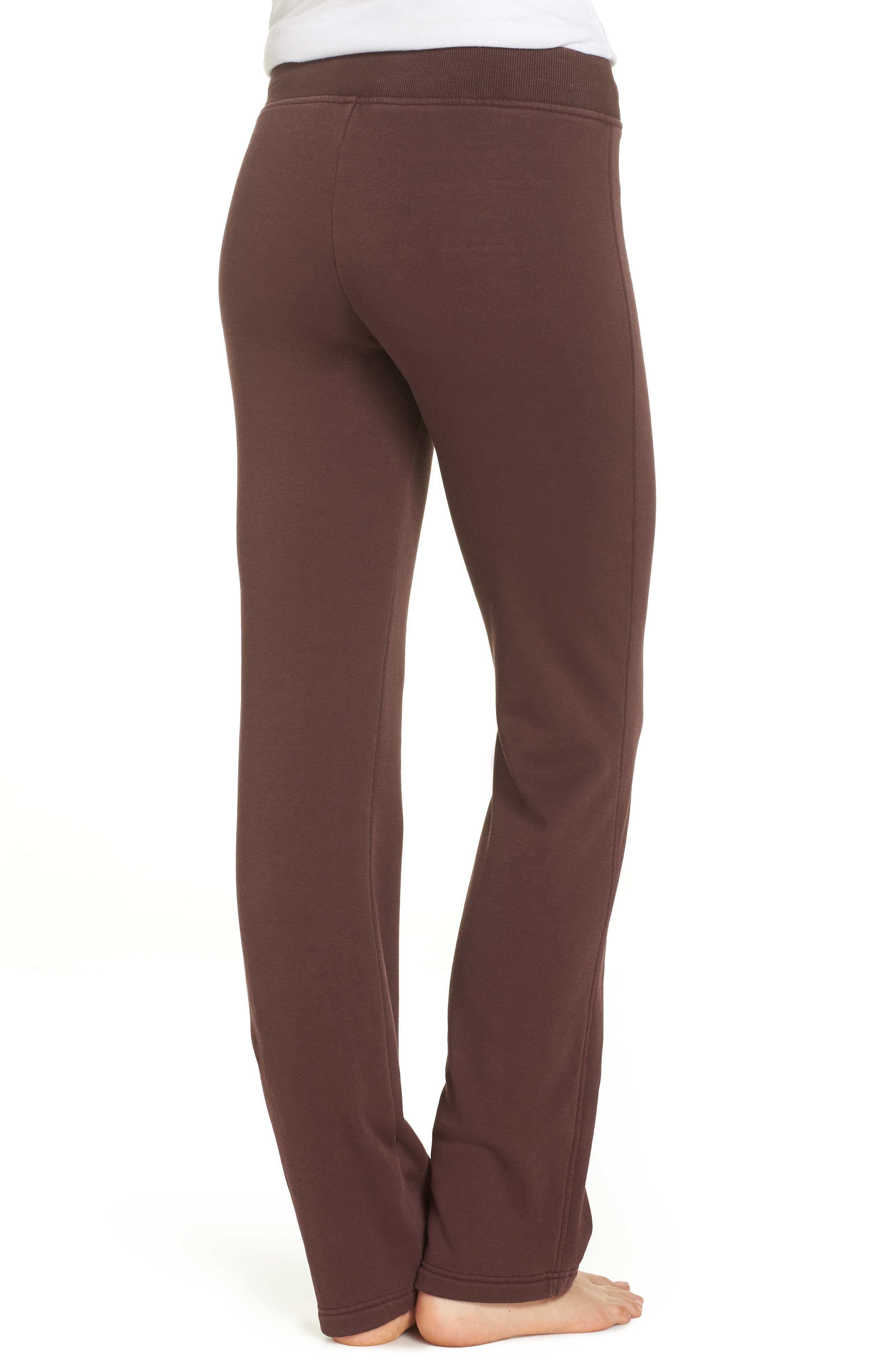 Penny Washed Lounge Pants,                             Alternate thumbnail 2, color,                             PORT