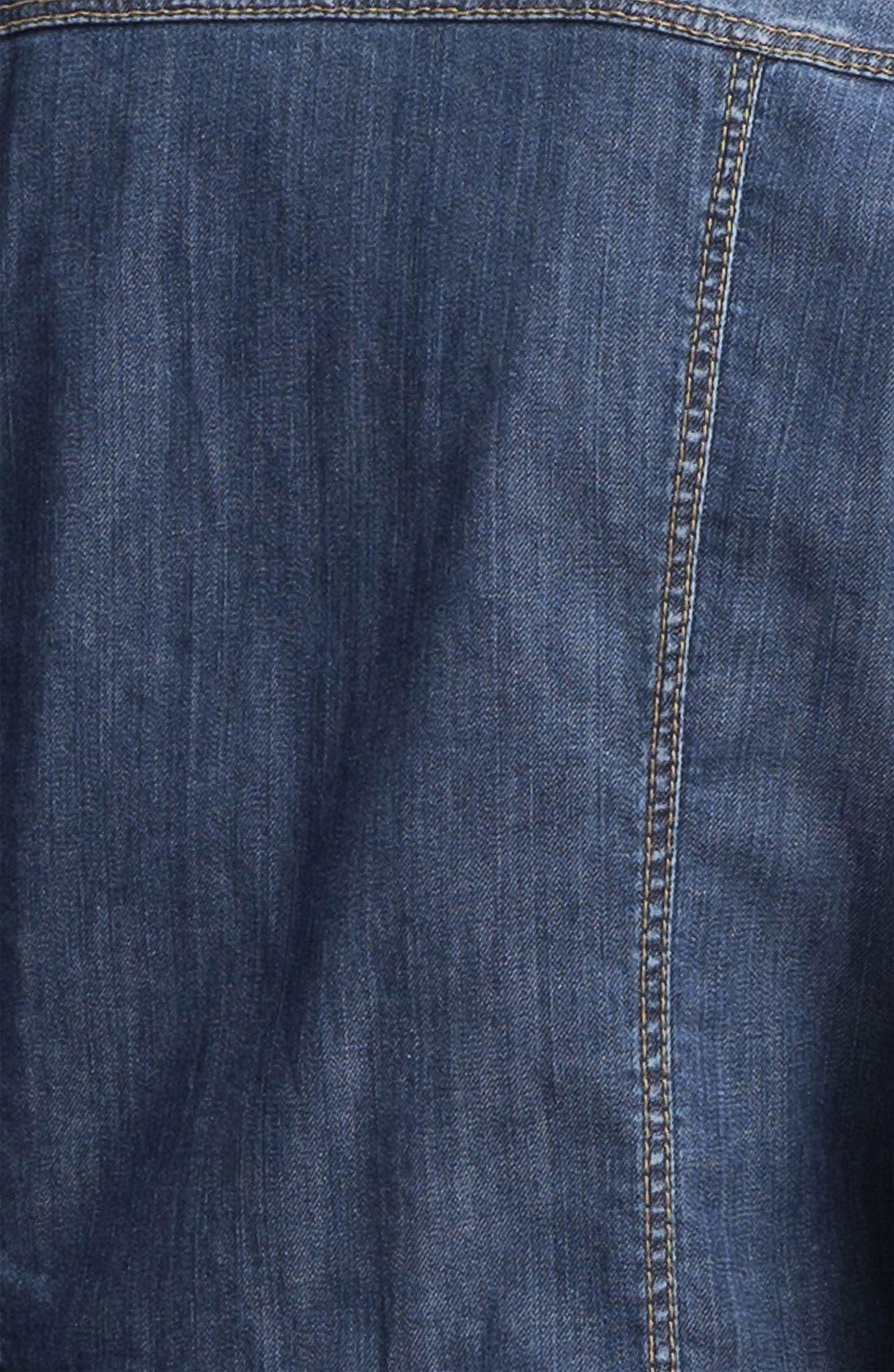 WEEKEND MAX MARA,                             'Victor' Denim Jacket,                             Alternate thumbnail 2, color,                             410