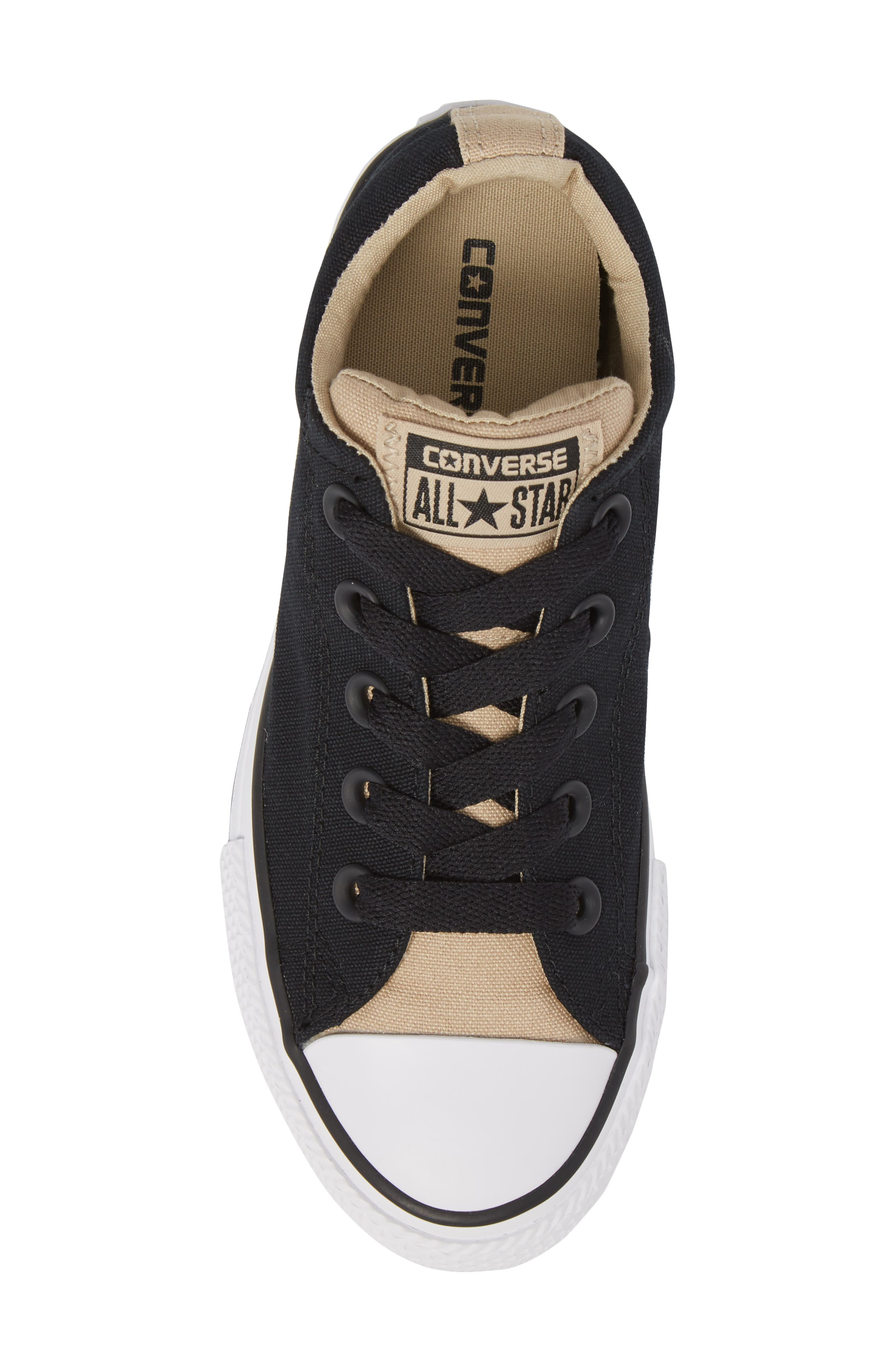 All Star<sup>®</sup> Street Slip Low Top Sneaker,                             Alternate thumbnail 5, color,                             001