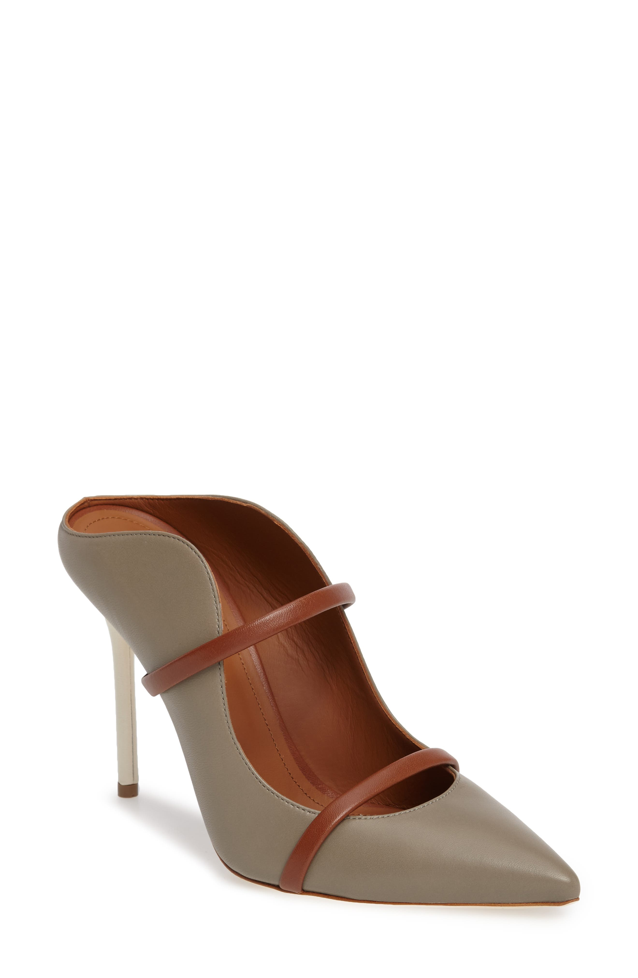 MALONE SOULIERS,                             'Maureen' Pointy Toe Mule,                             Main thumbnail 1, color,                             025