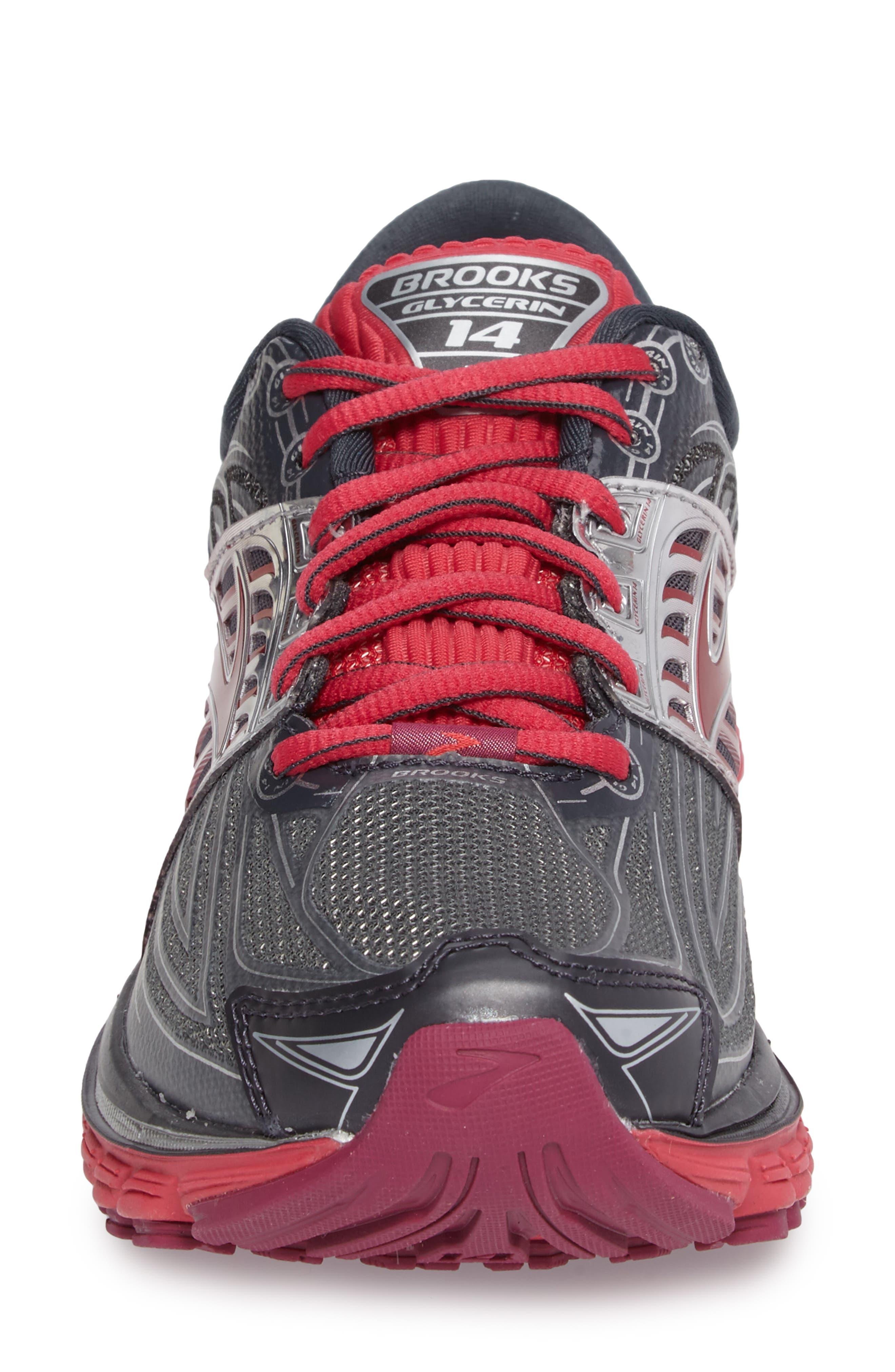 BROOKS,                             'Glycerin 14' Running Shoe,                             Alternate thumbnail 4, color,                             093