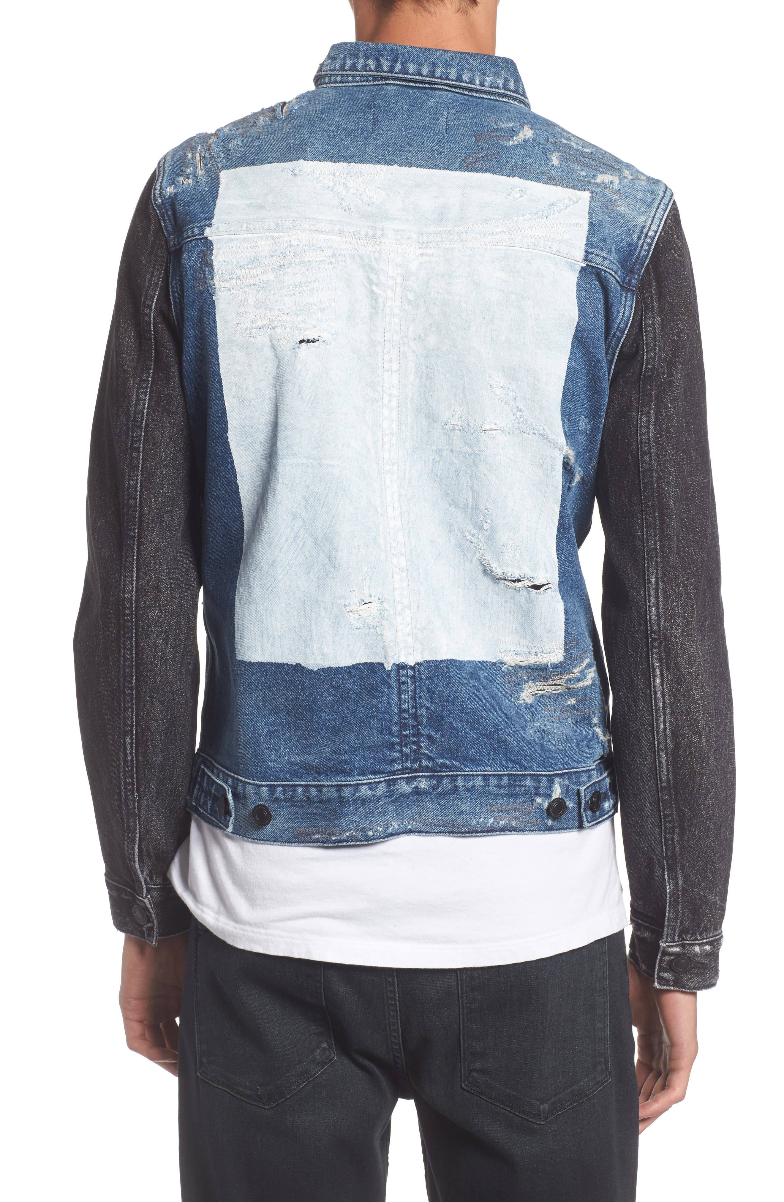 Trash Denim Jacket,                             Alternate thumbnail 2, color,                             460