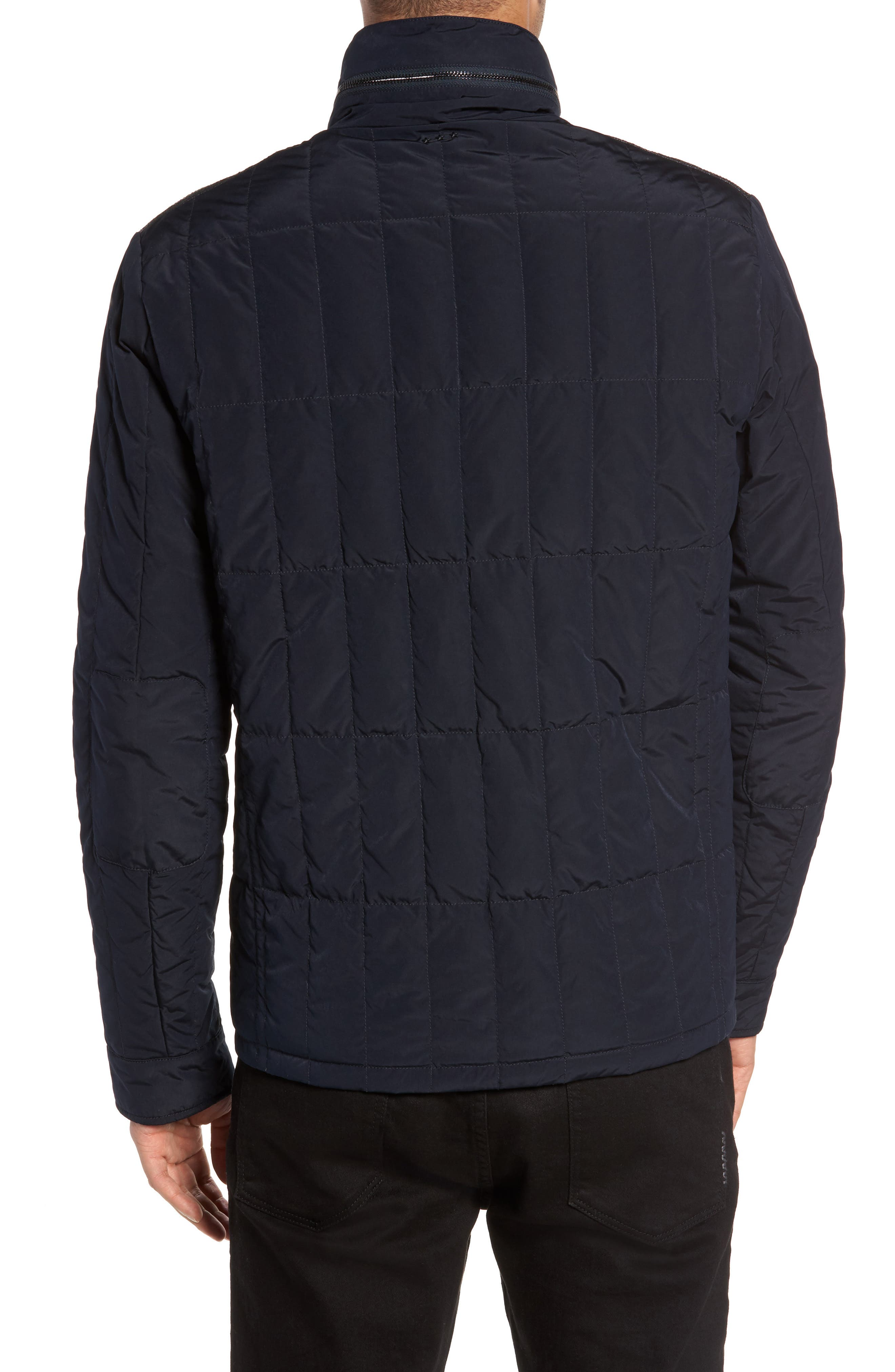 Quilted Down Jacket,                             Alternate thumbnail 4, color,