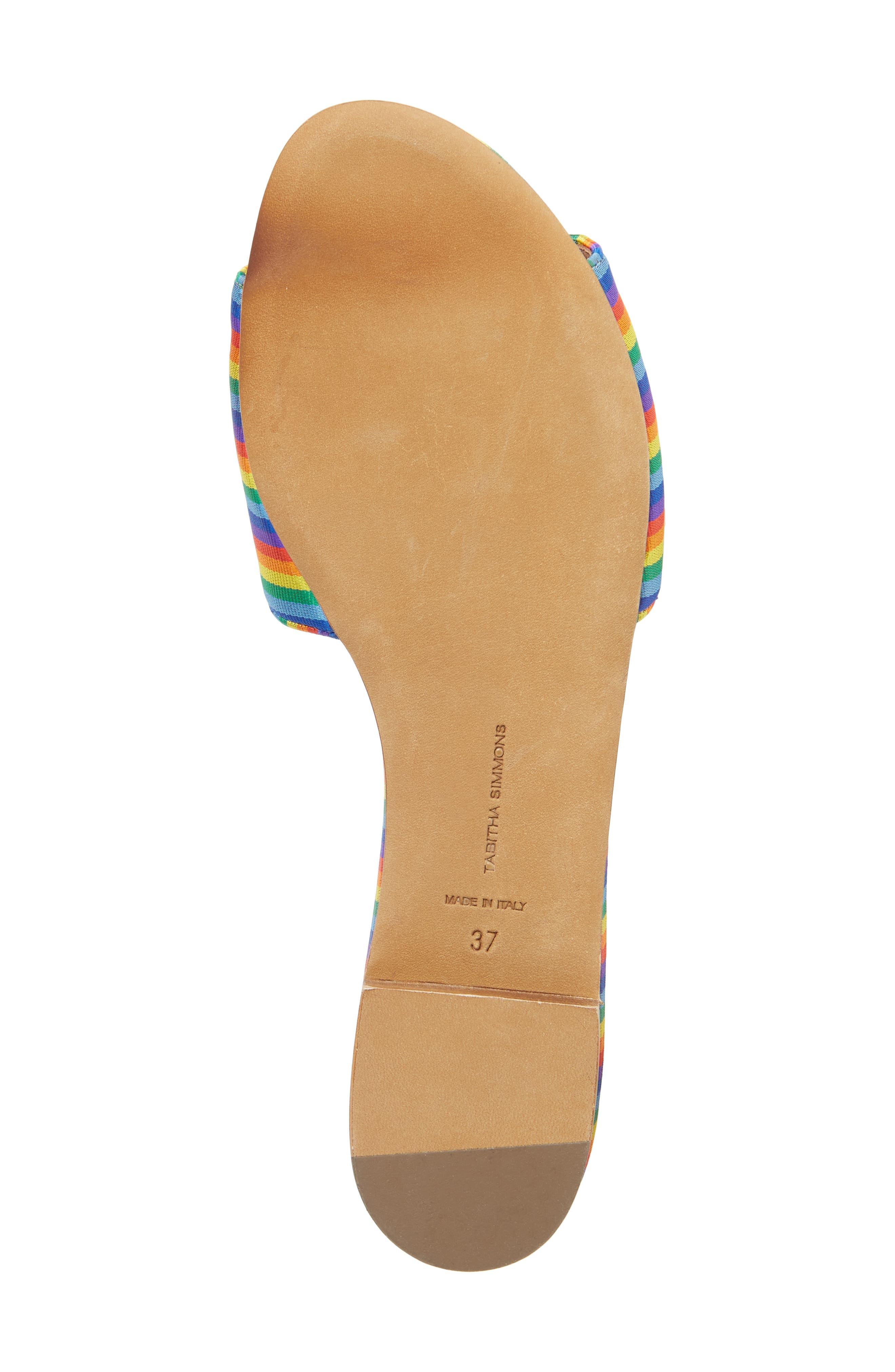 Sprinkles Slide Sandal,                             Alternate thumbnail 6, color,                             600
