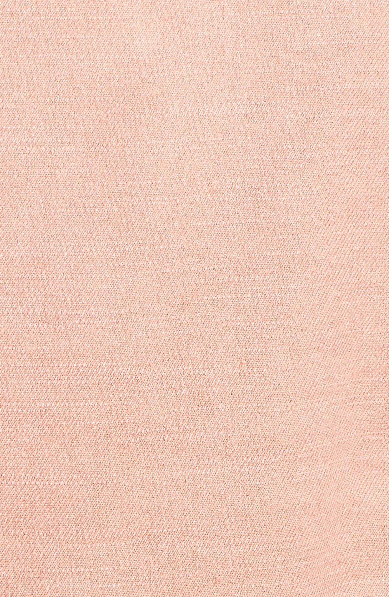 Linen Blend Drape Jacket,                             Alternate thumbnail 12, color,